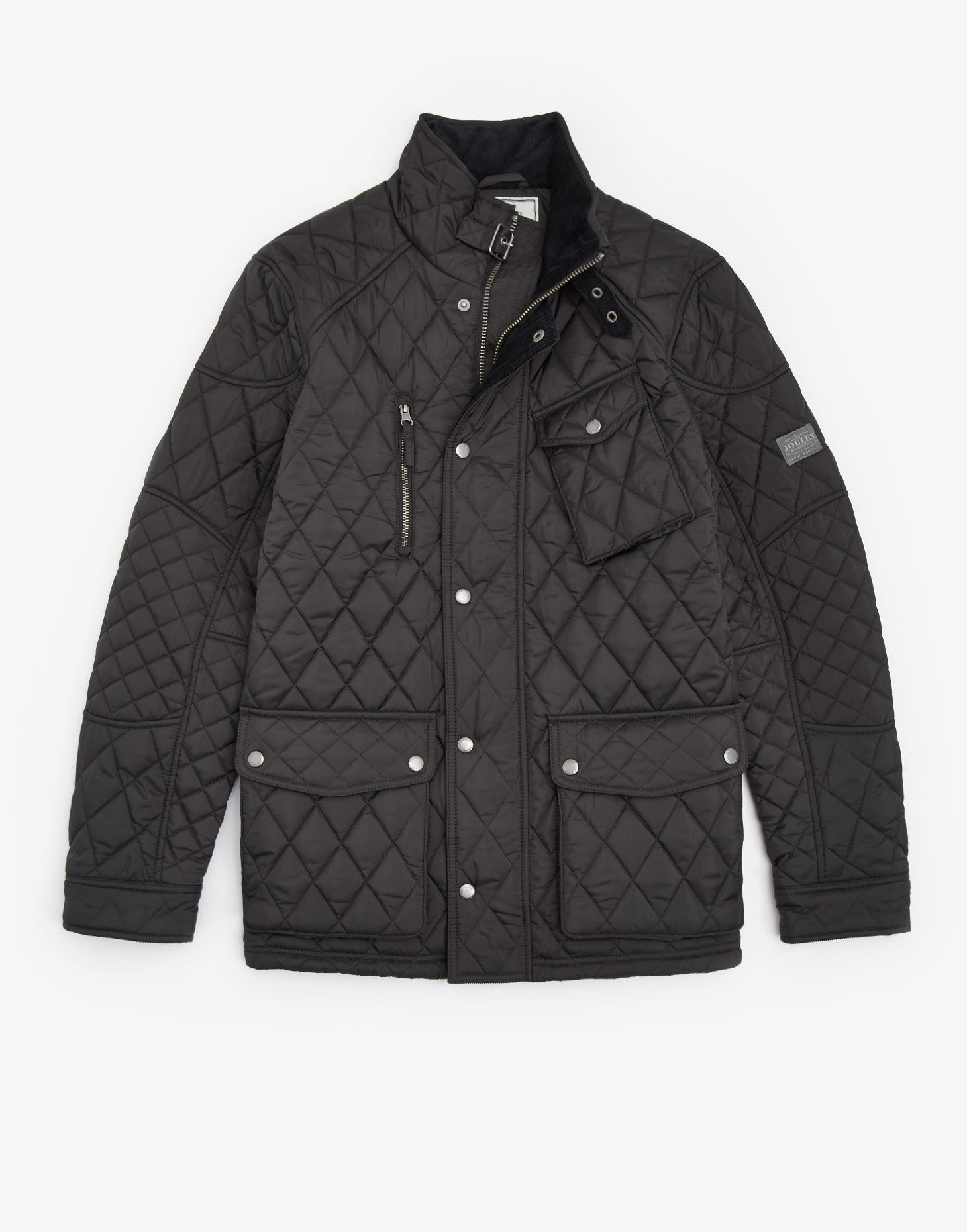 Joules Coal STAFFORD Quilted Jacket