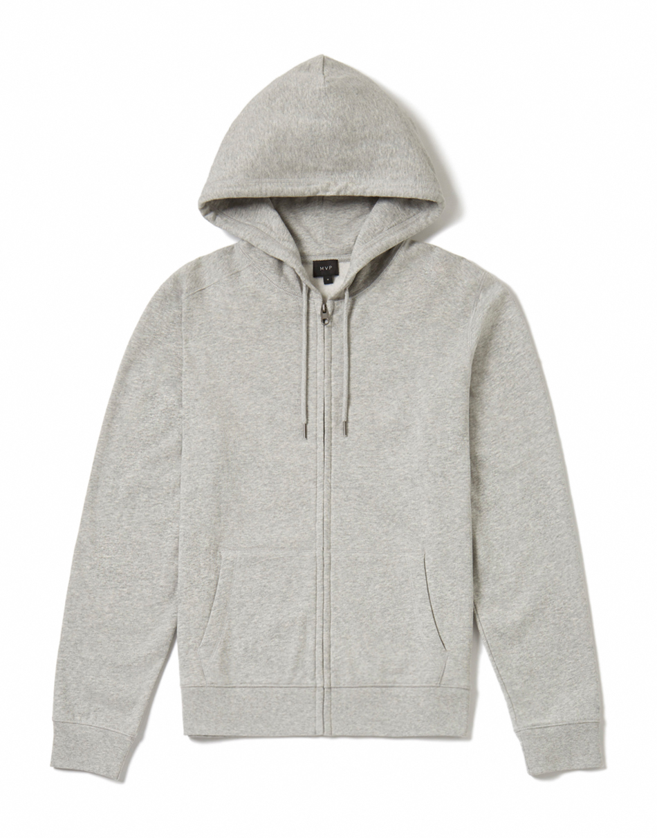 MVP Harding Hooded Sweatshirt - Grey Melange