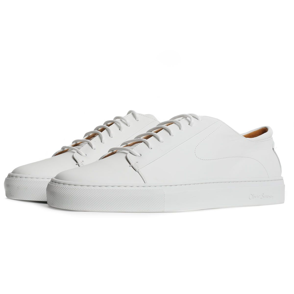 Oliver Sweeney Osimo White - Calf Leather Premium Trainer