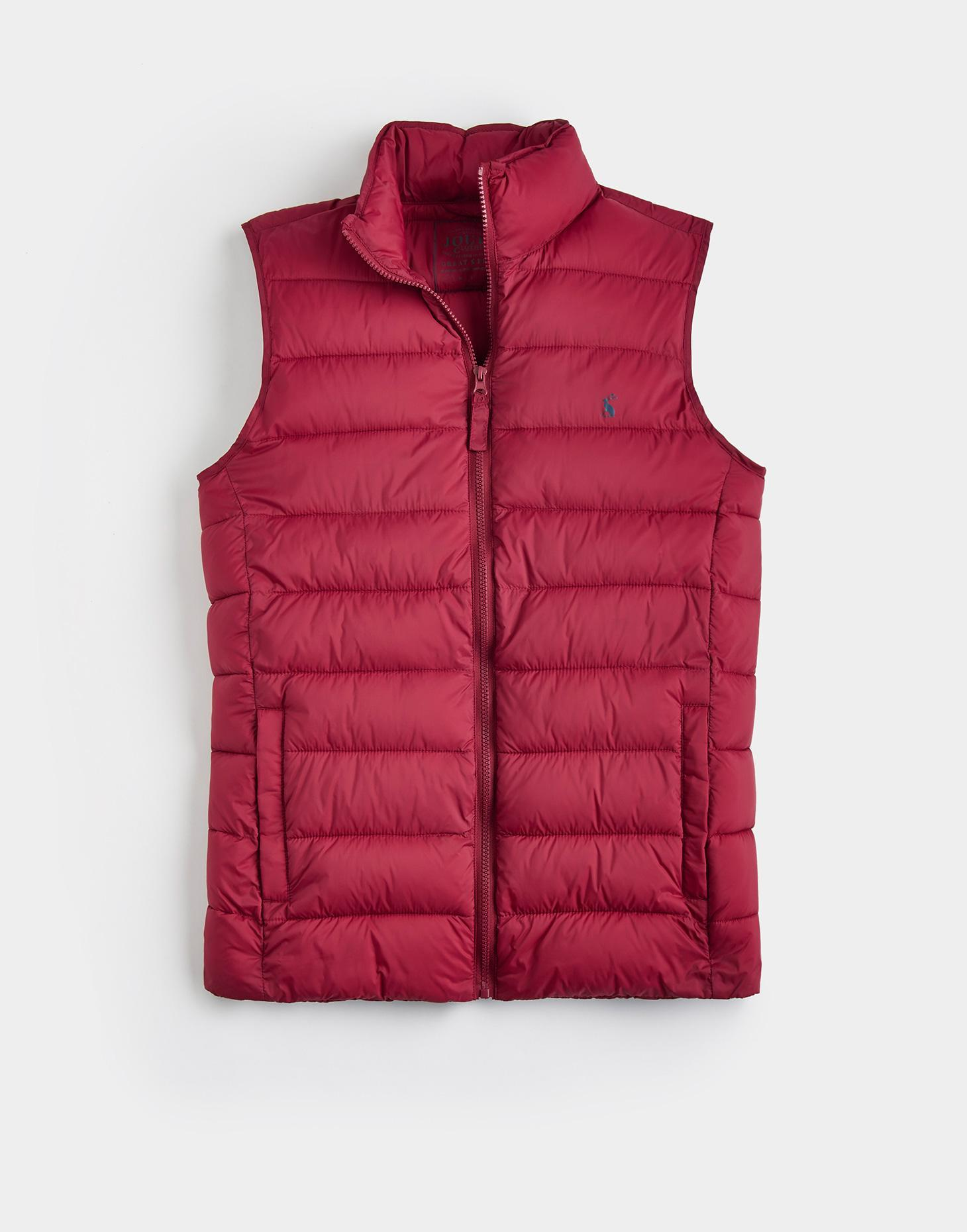 Joules Rhubarb GO TO Lightweight Gilet