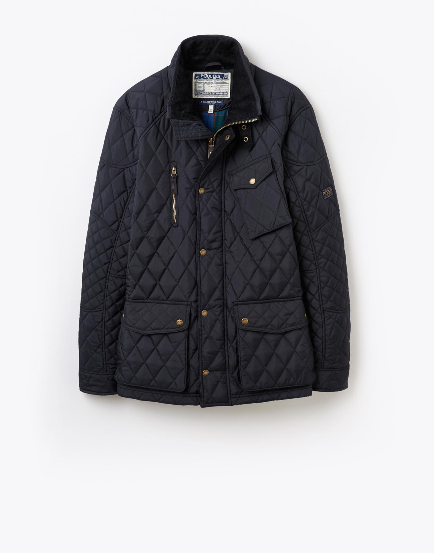 Joules Marine Navy STAFFORD Quilted Jacket