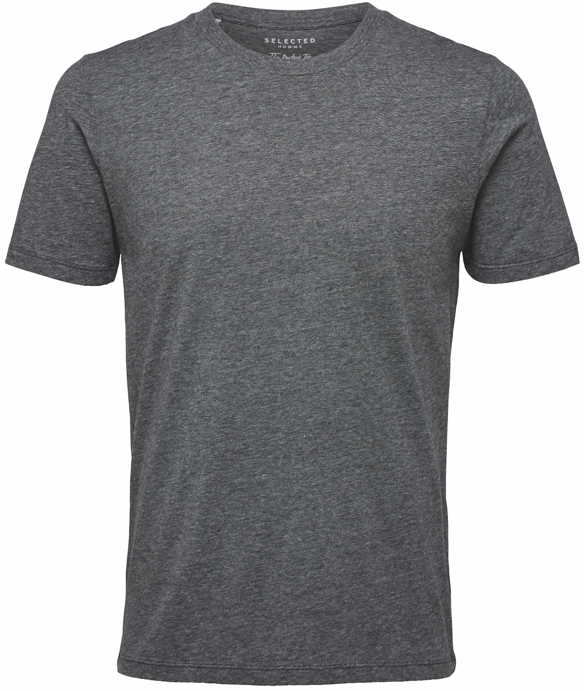 Selected Black / Grey The Perfect Short Sleeve T-shirt