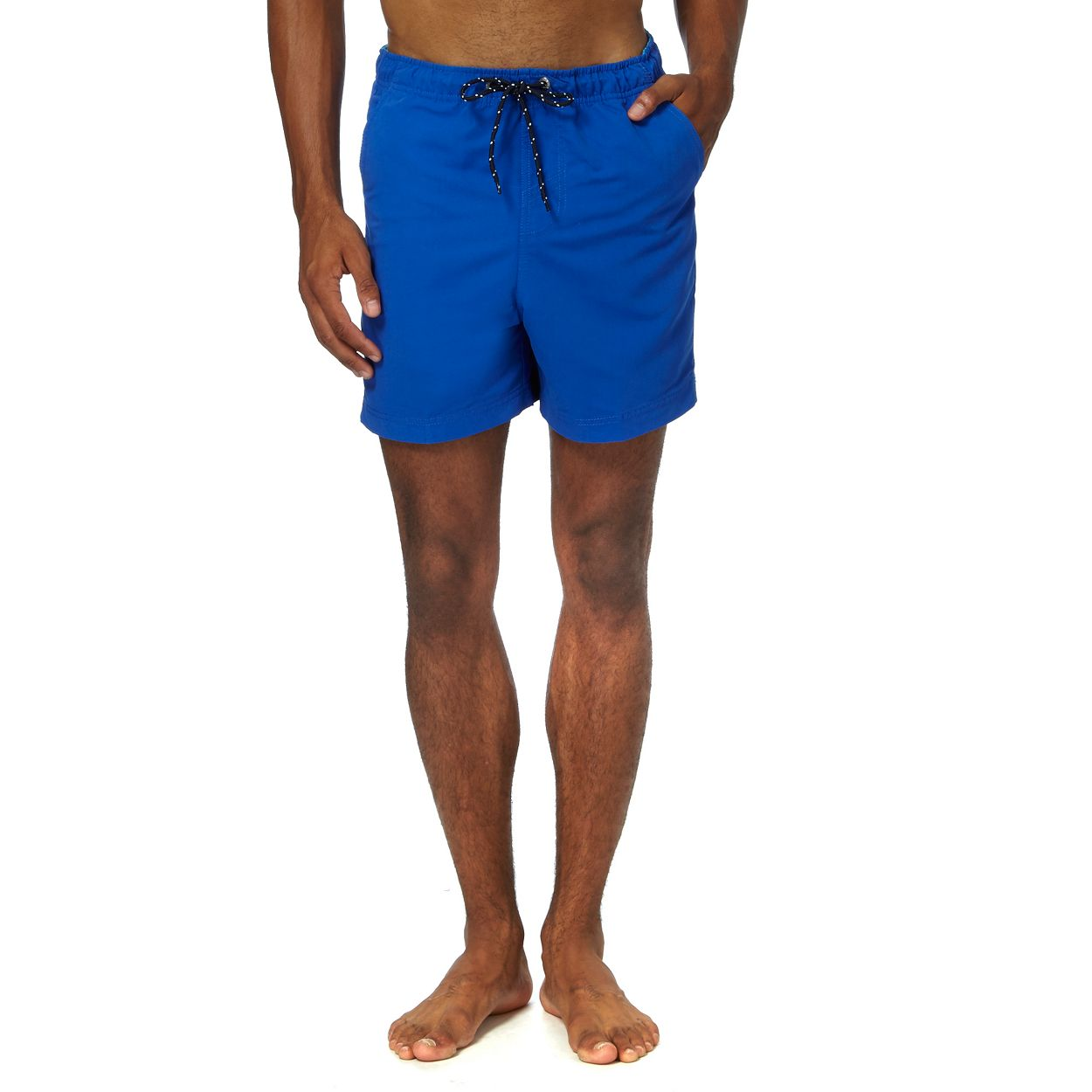Maine New England Mid Blue Mid blue swimshorts