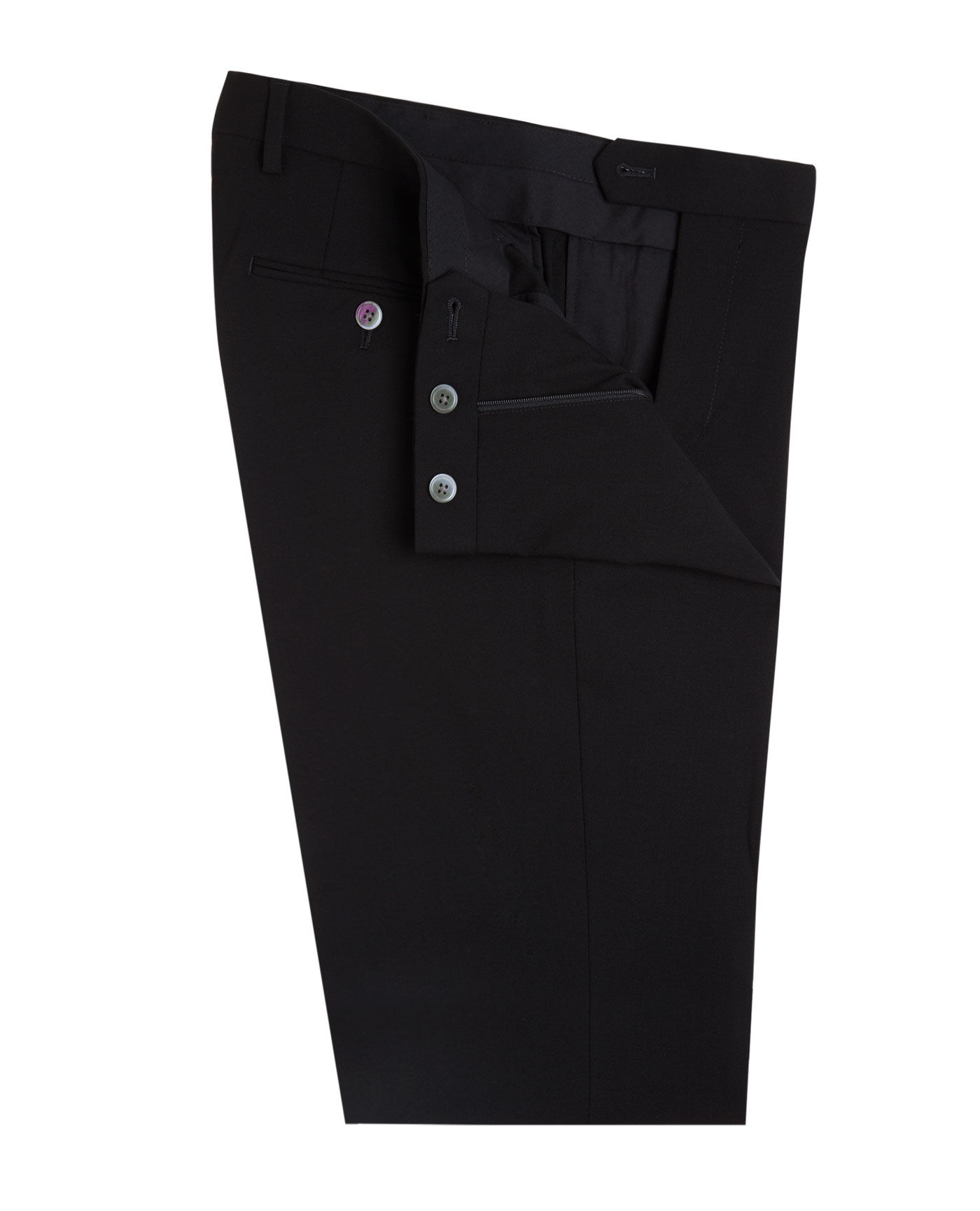 Trent Black Skinny Fit Infinity Suit Trousers By T M Lewin Thread Com