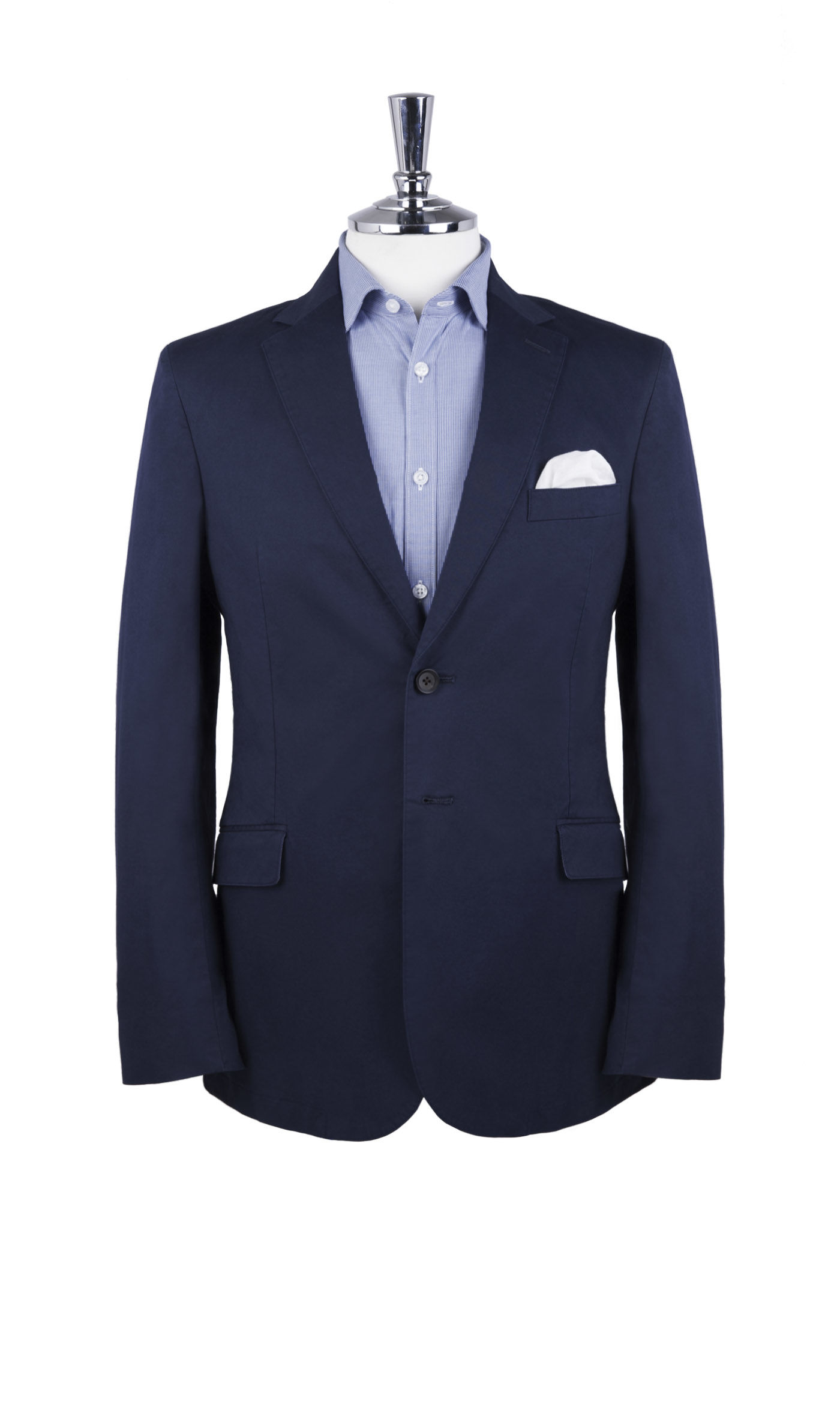 T.M.Lewin Belmont Navy Italian Stretch Cotton Jacket
