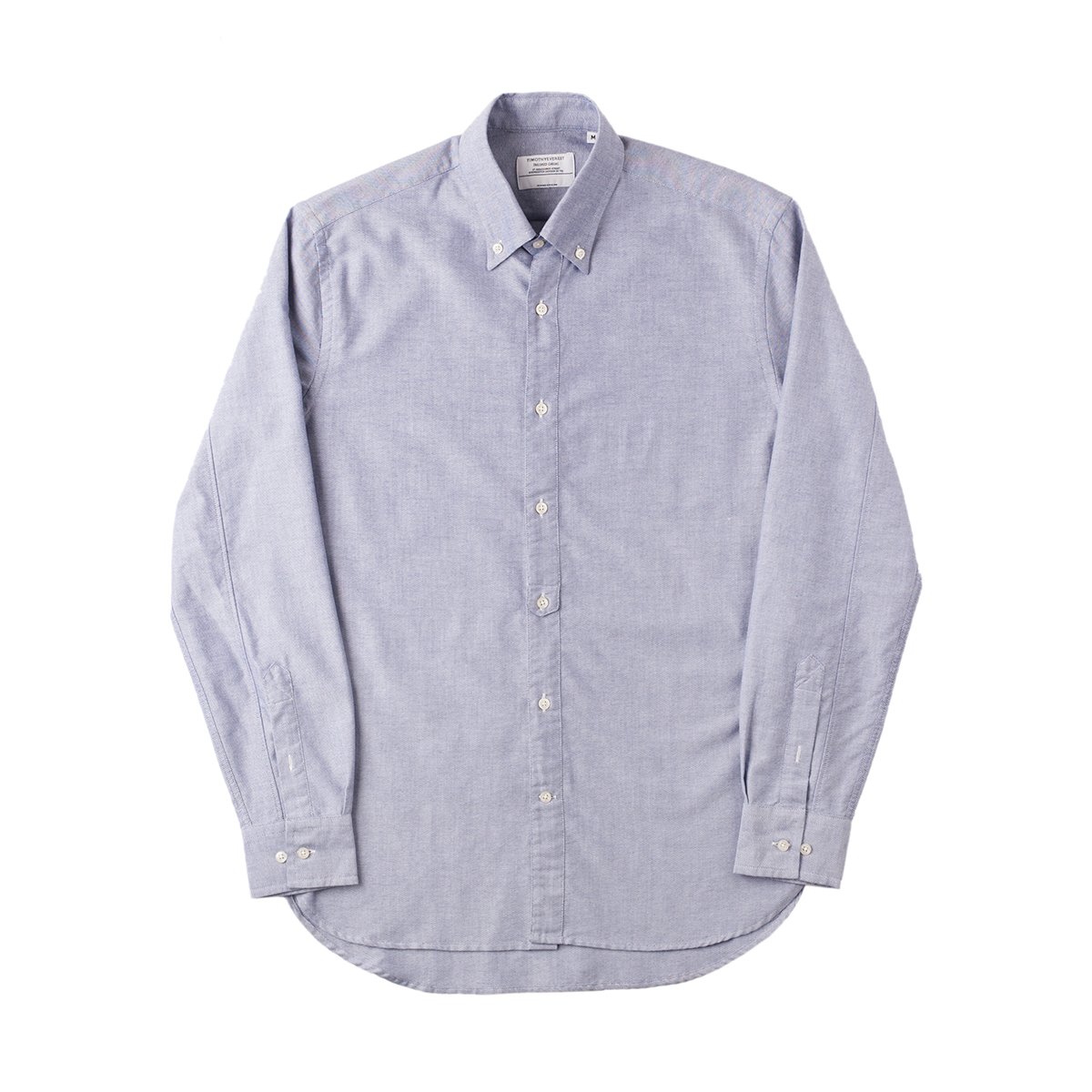 Timothy Everest Blue Oxford Tab Front Shirt