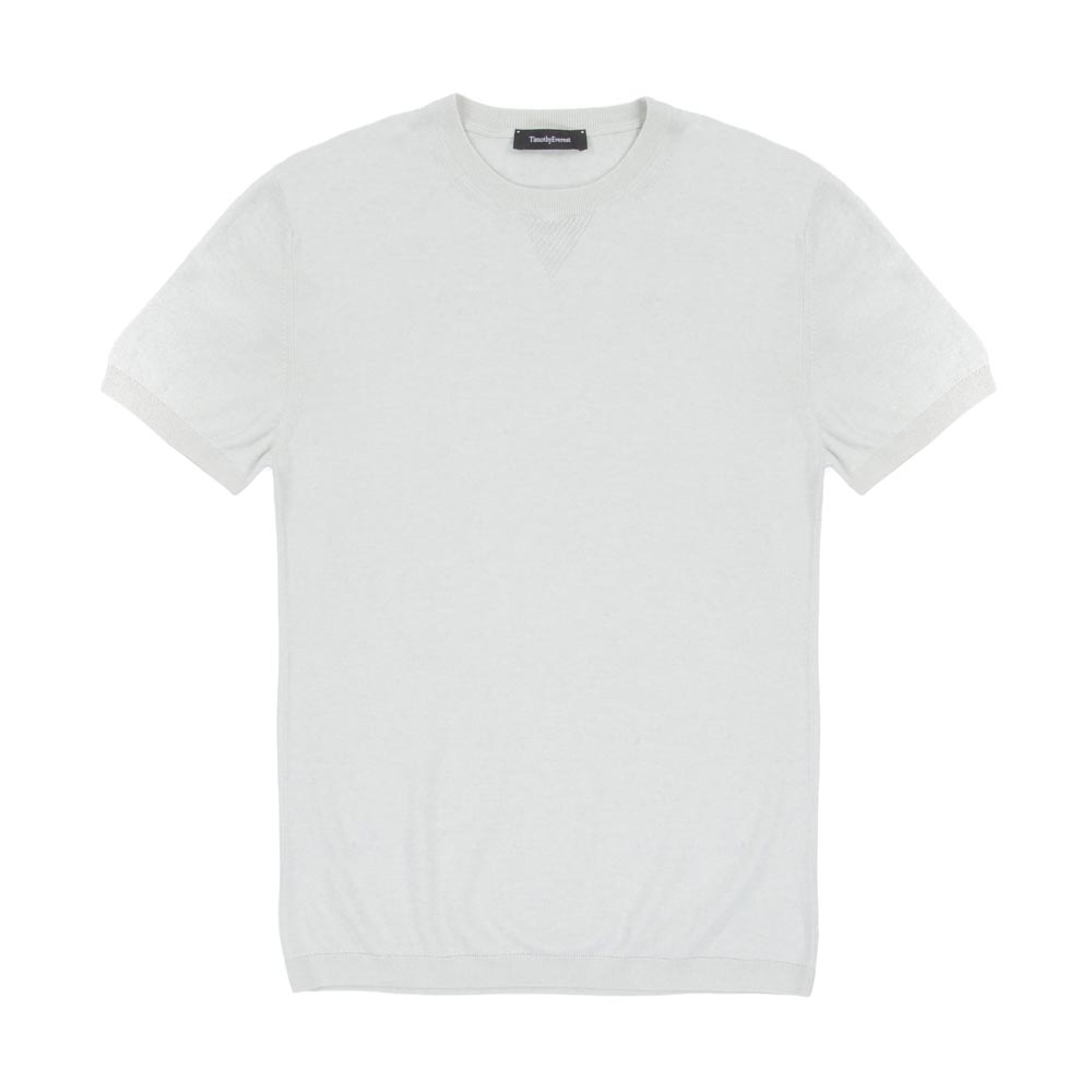 Timothy Everest Mint Lightweight Cotton/Cashmere Knitted Tee