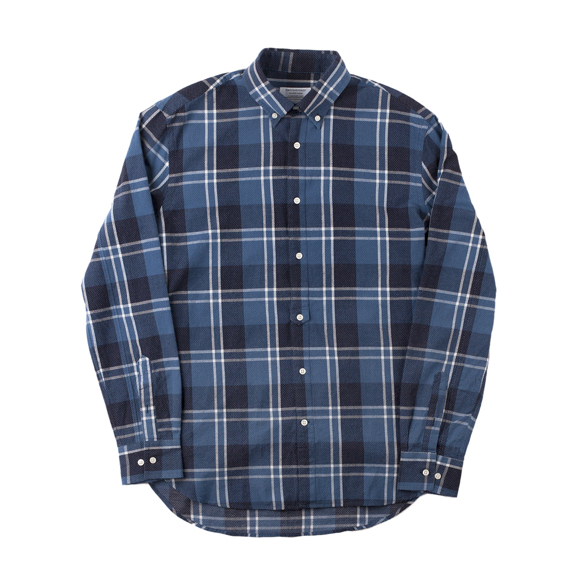 Timothy Everest Blue/White Check Tab Front Shirt
