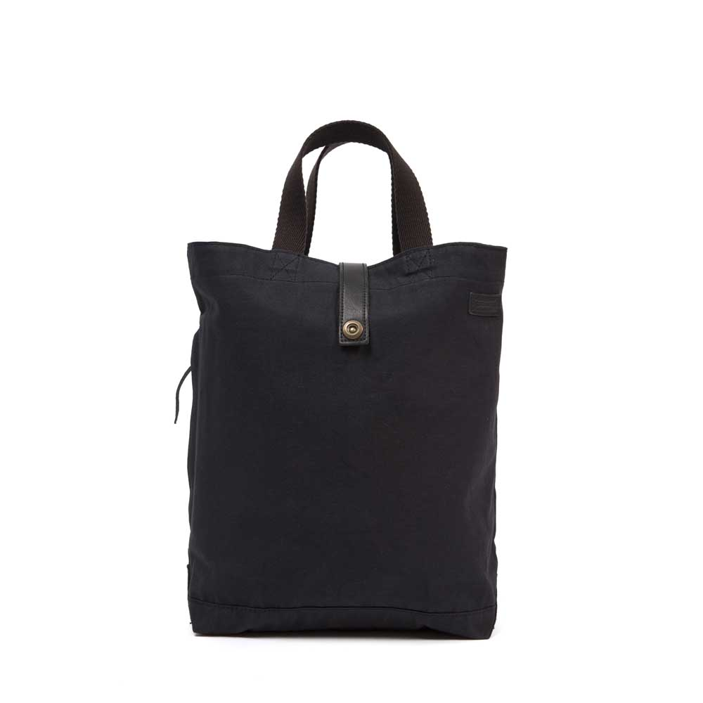 Timothy Everest Black Canvas Tote Bag