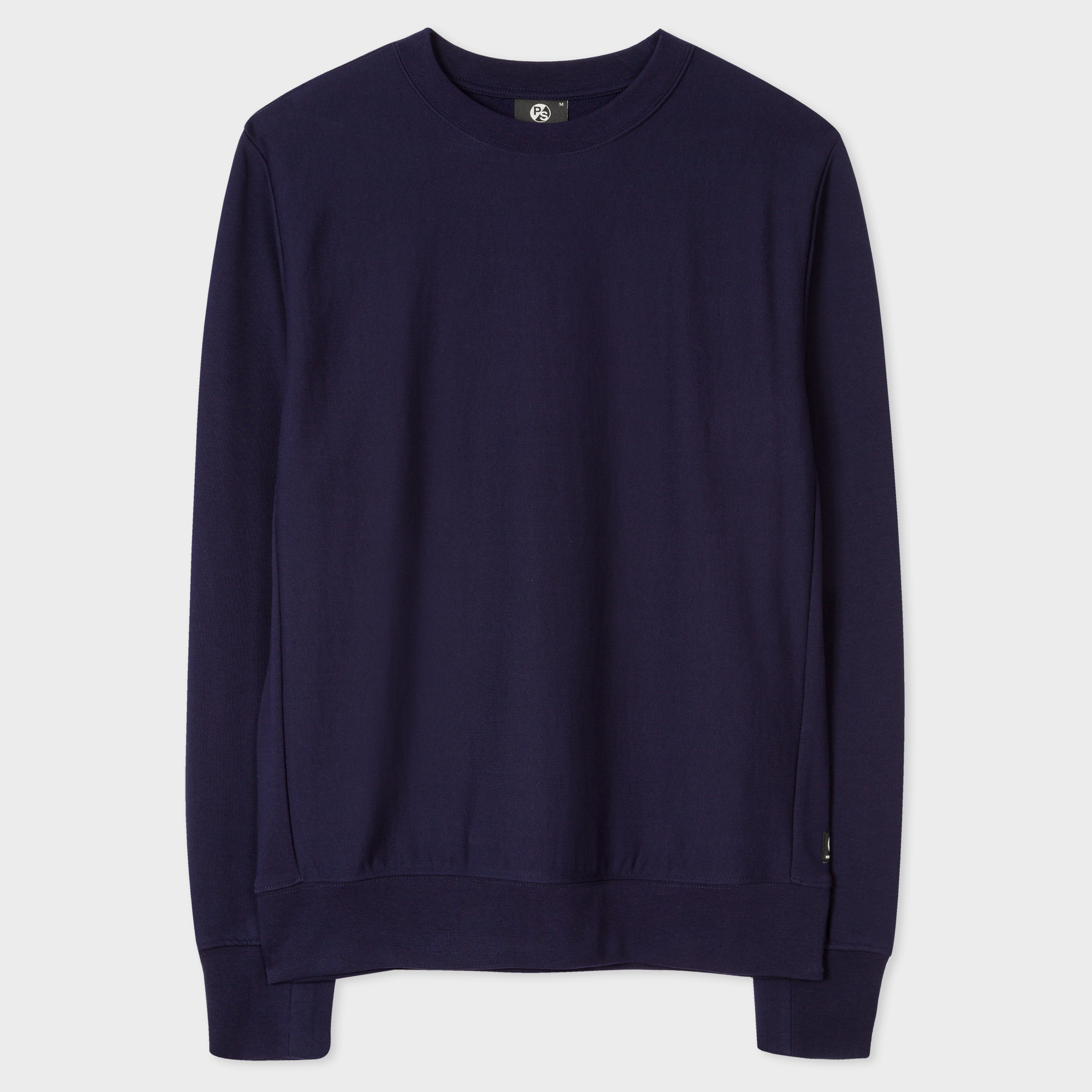 Paul Smith Men's Navy Organic-Cotton Sweatshirt