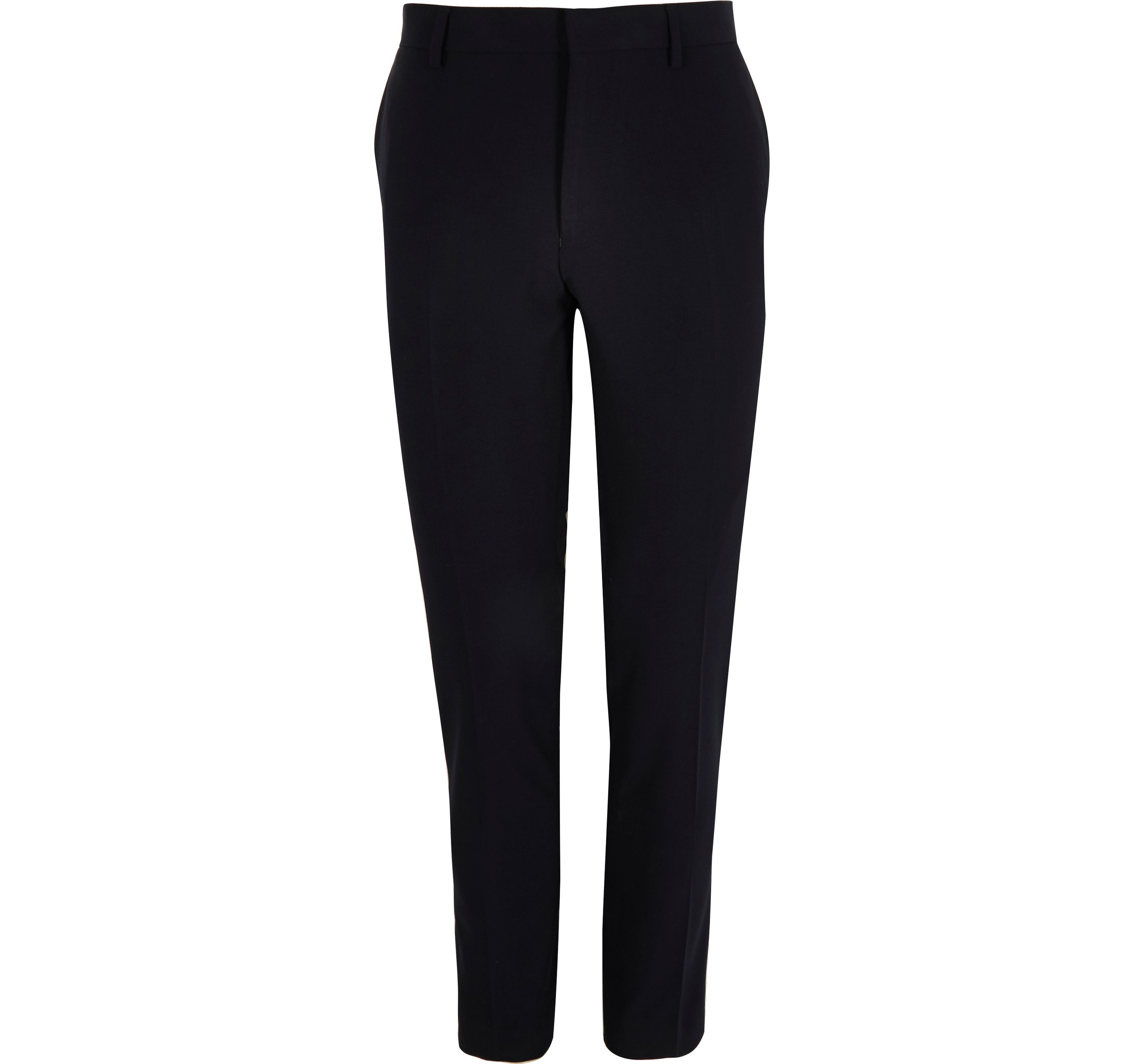 River Island Mens Navy super skinny suit trousers