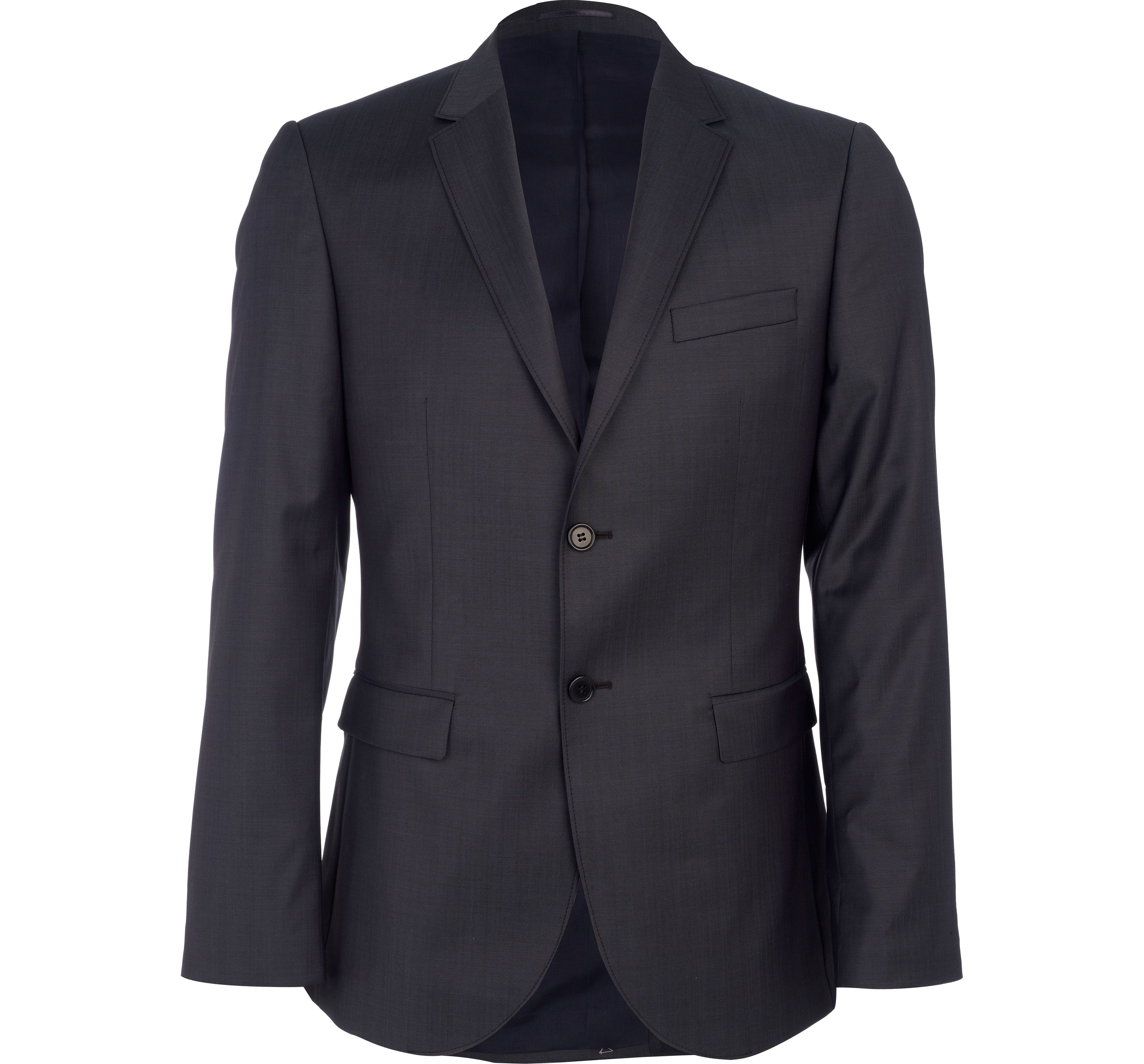 River Island Mens Navy new classic fit suit jacket