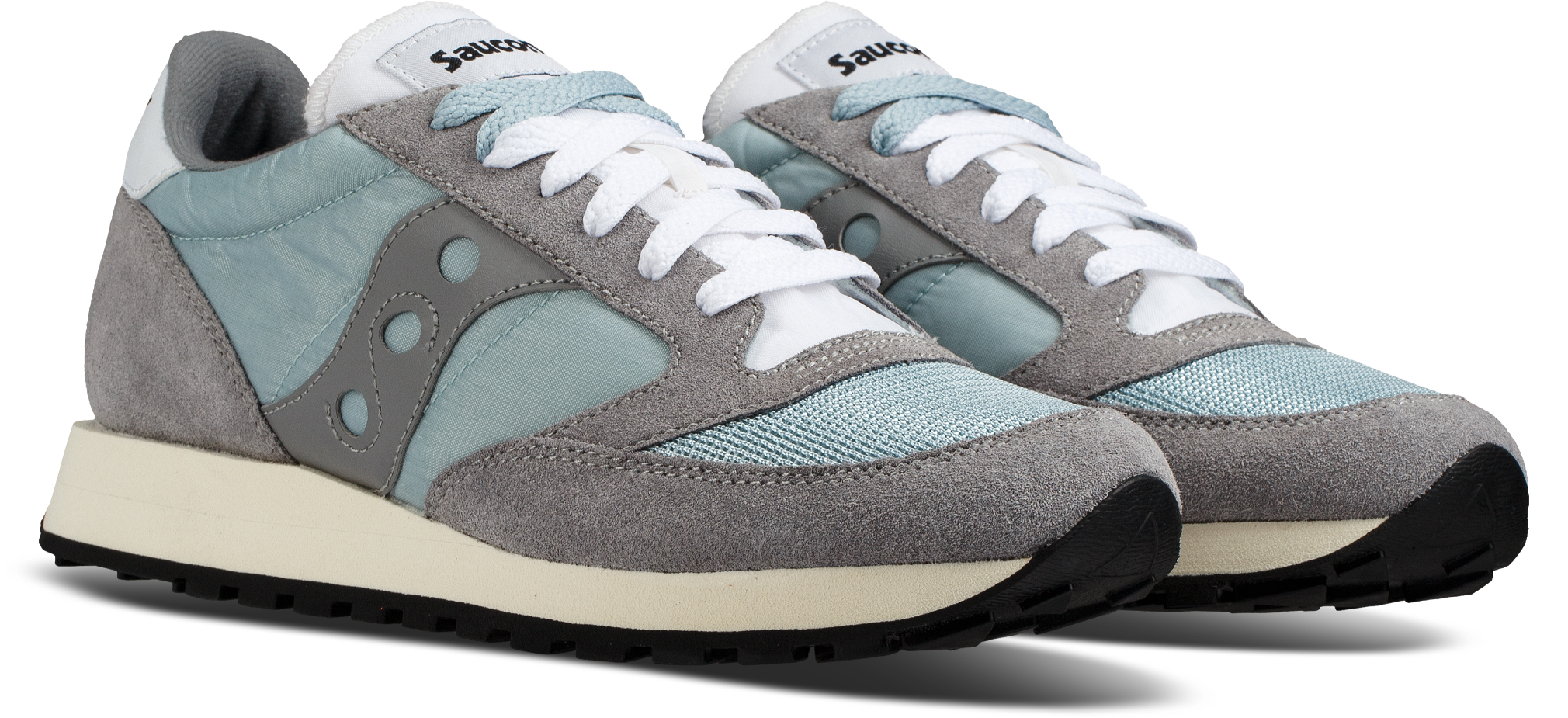Saucony GREY/WHITE Jazz Orignial Vintage Shoes