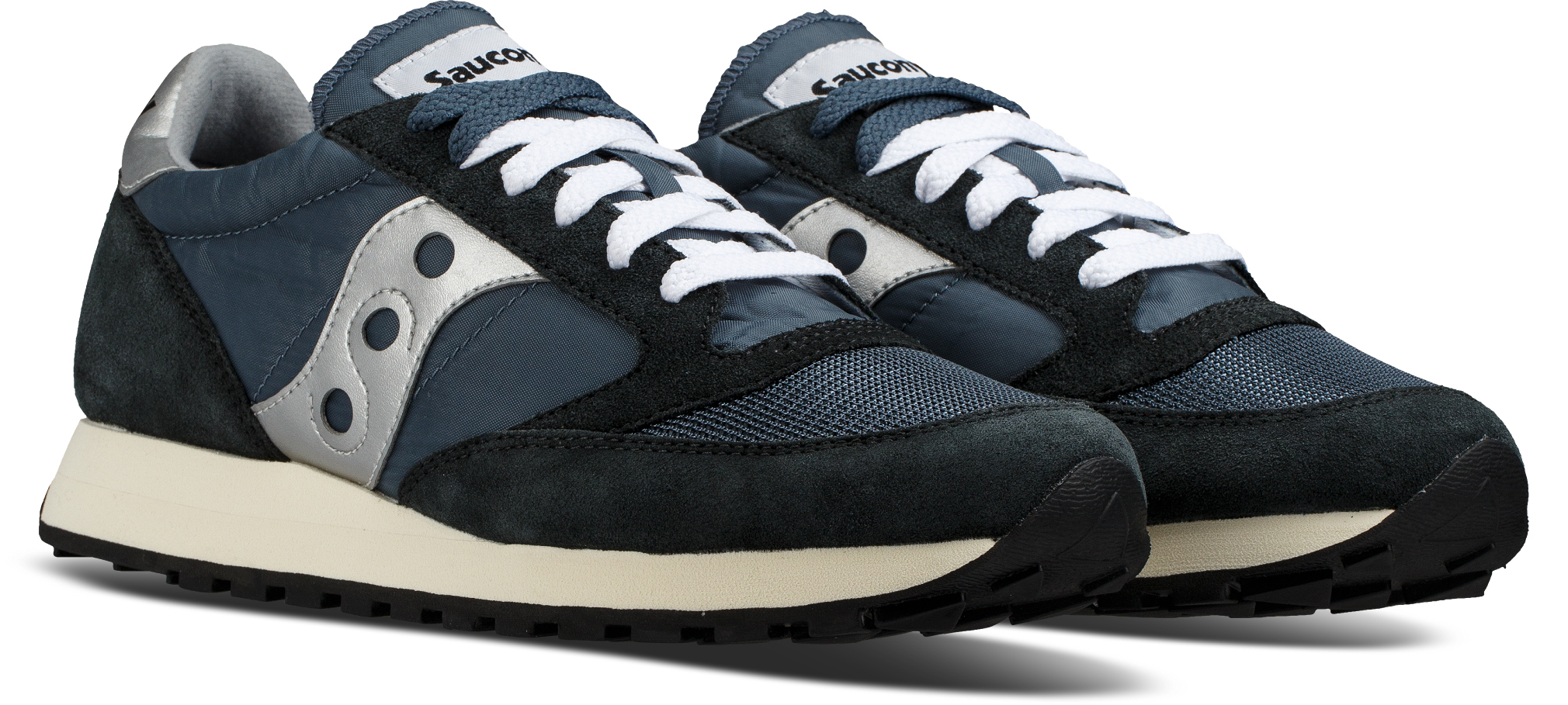 Saucony BLUE/NAVY/SILVER Jazz Orignial Vintage Shoes