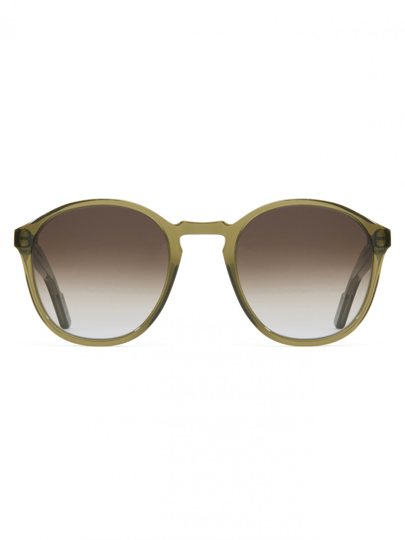 E. Tautz Olive Whitby Sunglassess