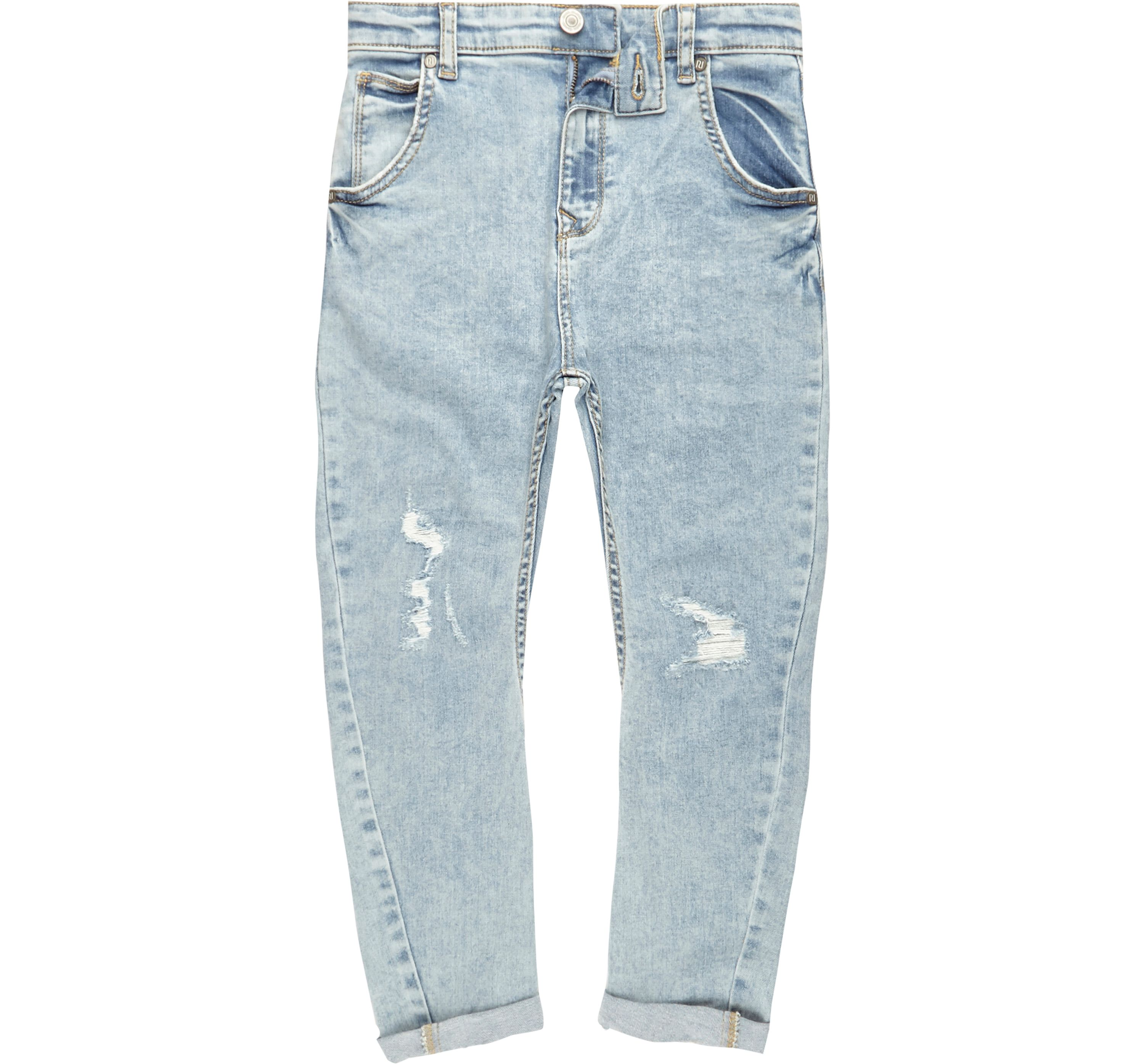 River Island Mens Boys light Blue ripped Tony slouch jeans