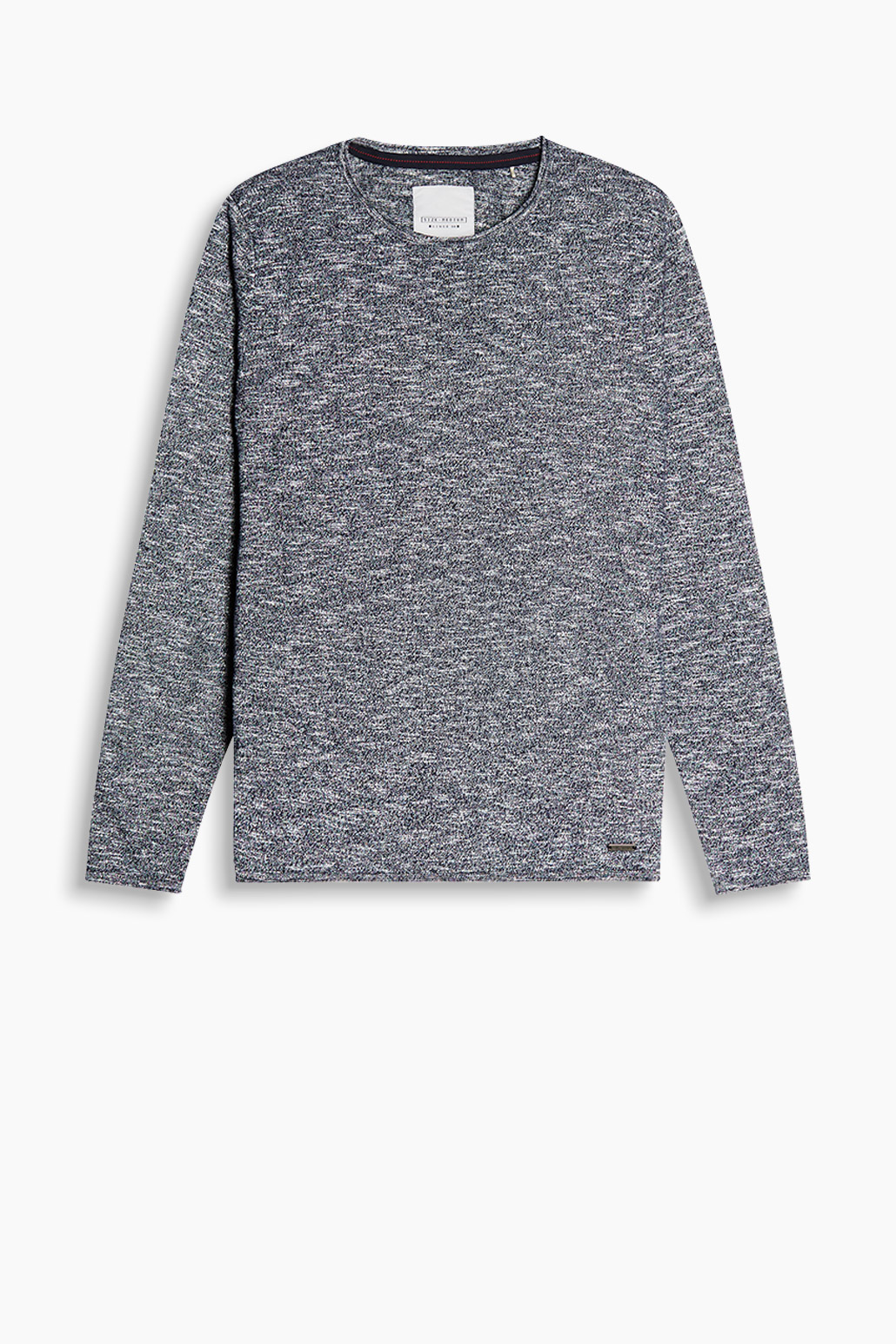 Esprit Navy Slub Sweater
