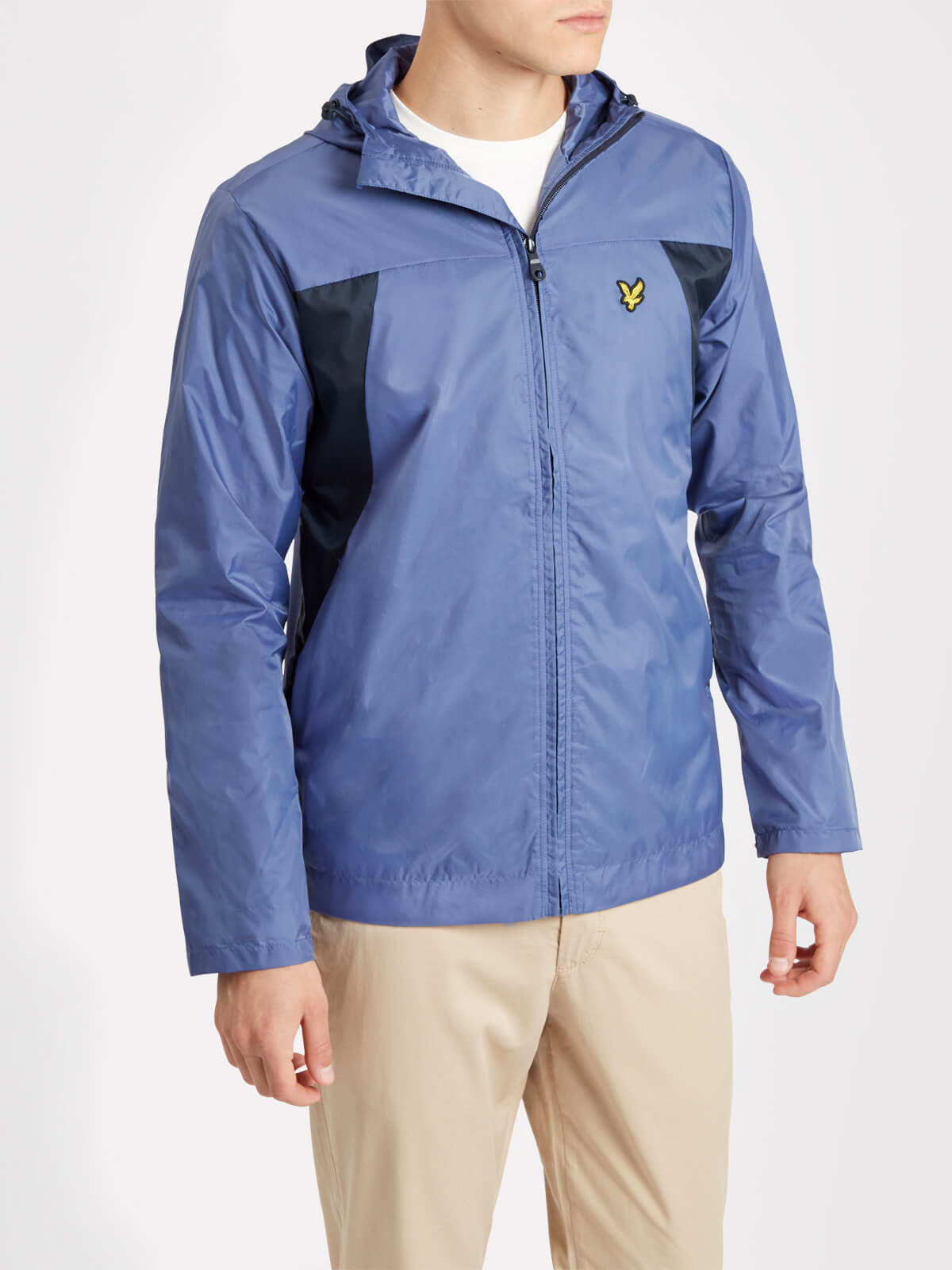 Lyle and Scott Storm Blue Lightweight Jacket