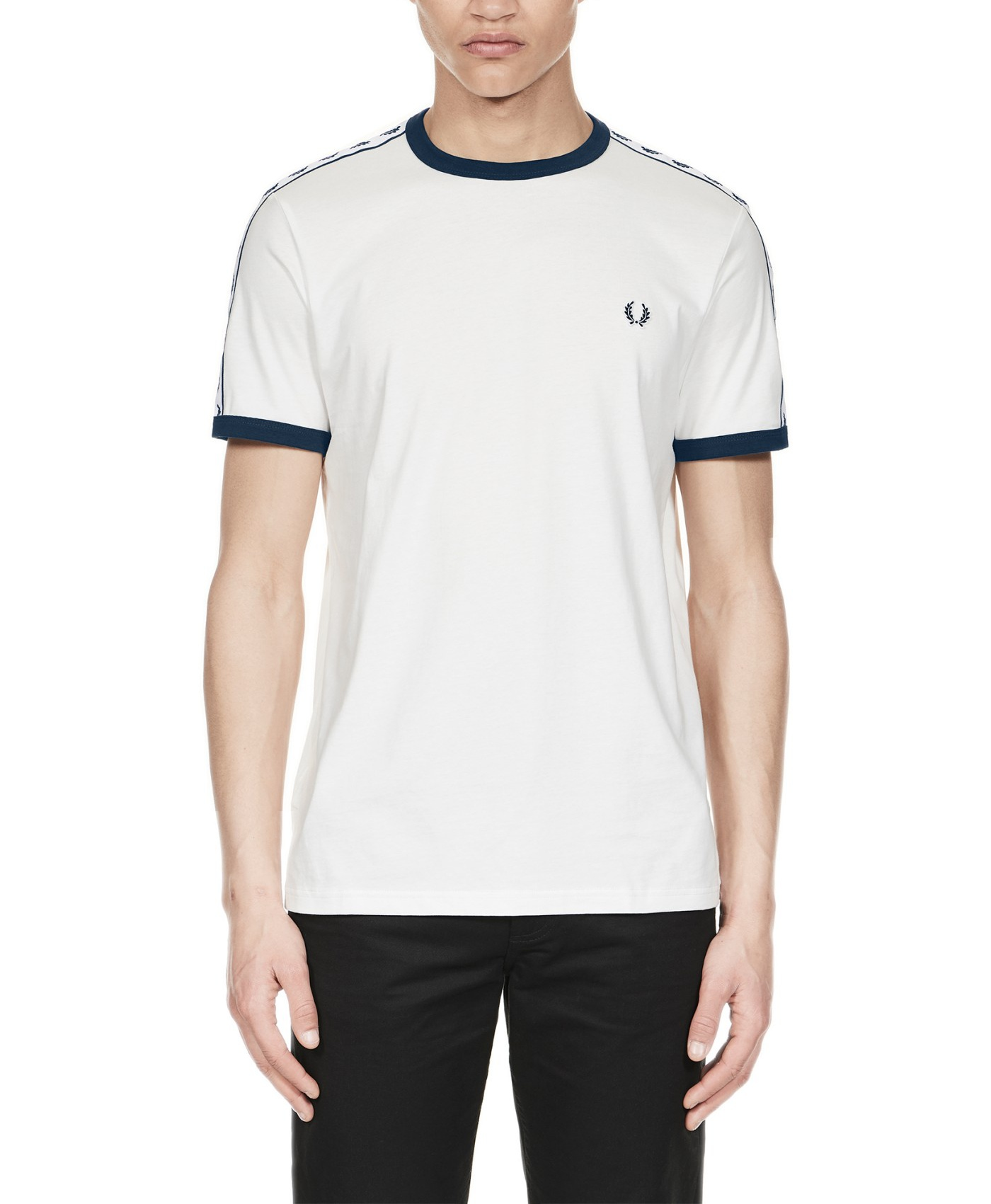 Fred Perry Sports Authentic Taped Ringer T-Shirt