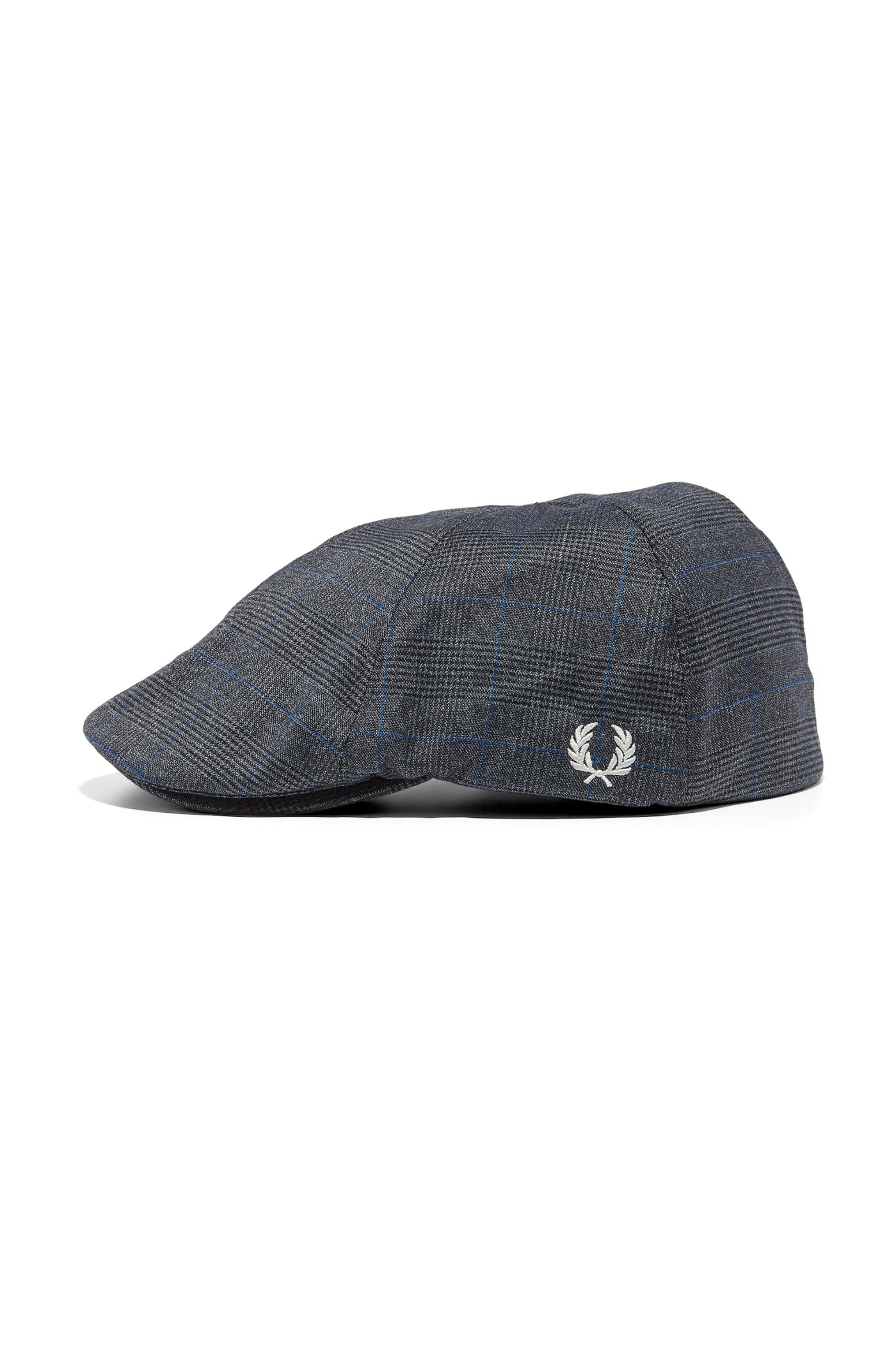 Fred Perry Prince Of Wales Flat Cap