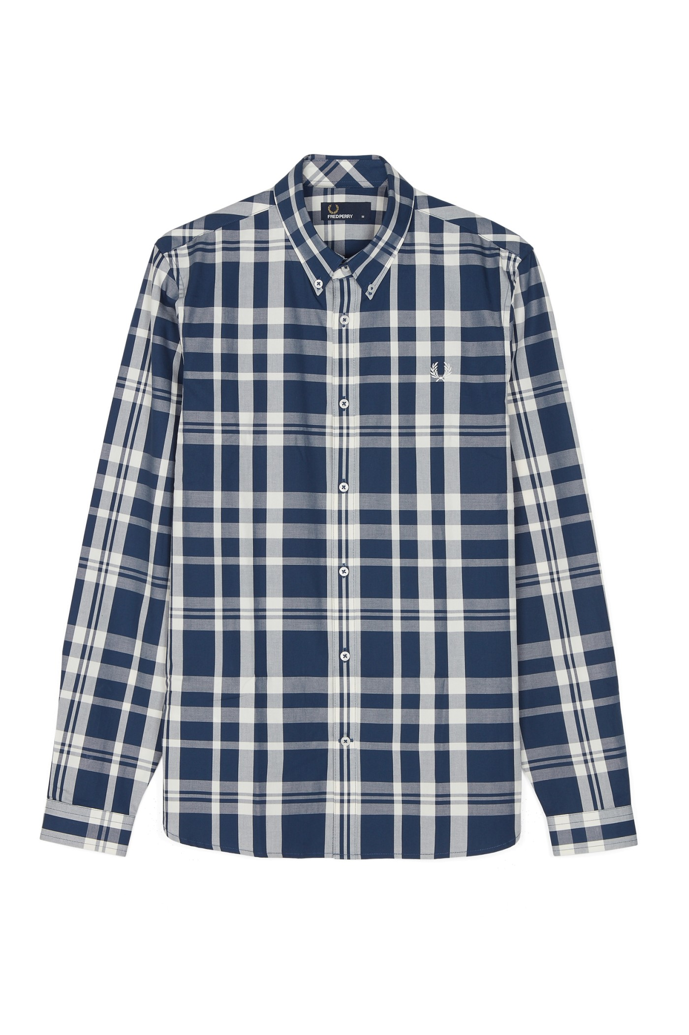 Fred Perry Two-Colour Check Shirt