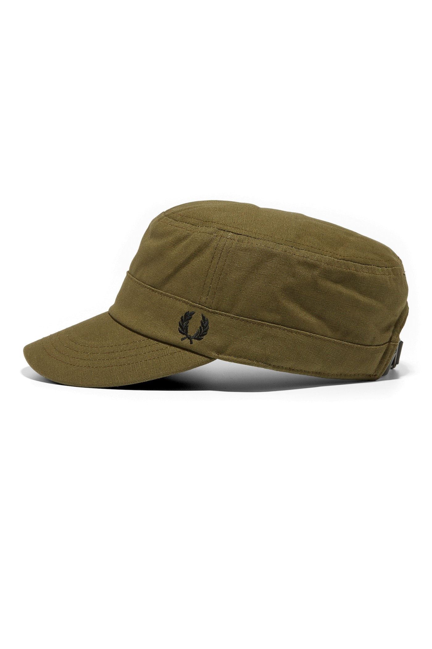 Fred Perry Waxed Canvas Cadet Cap