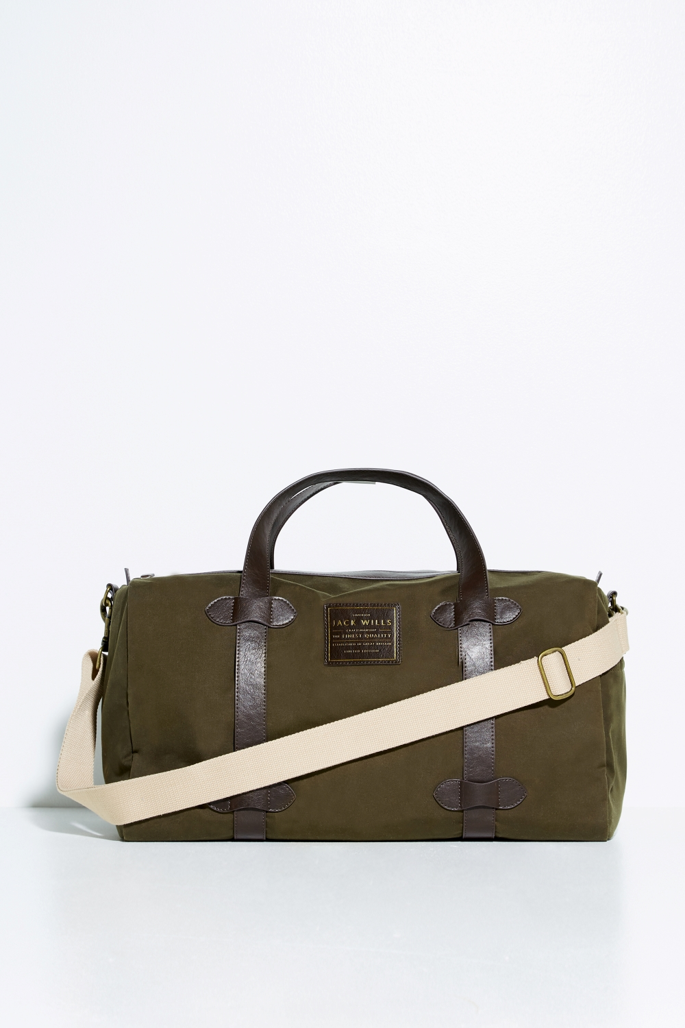 Jack Wills Khaki BOWDEN SAFARI BAG