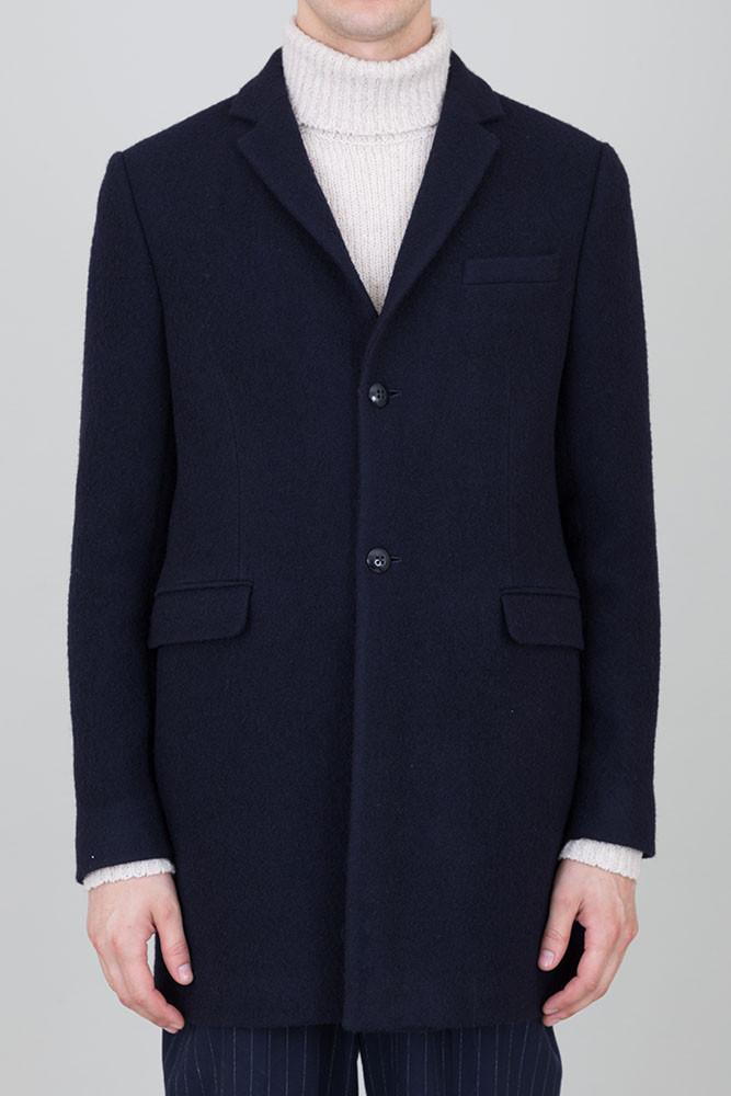 Folk Three Four Coat - Navy