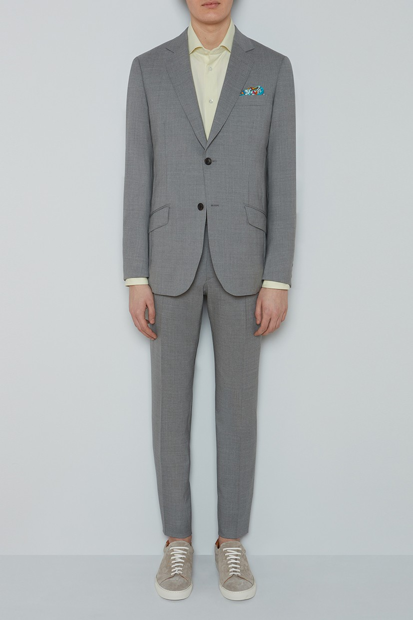 Richard James Seishin Suit - Dove Stretch Mooving