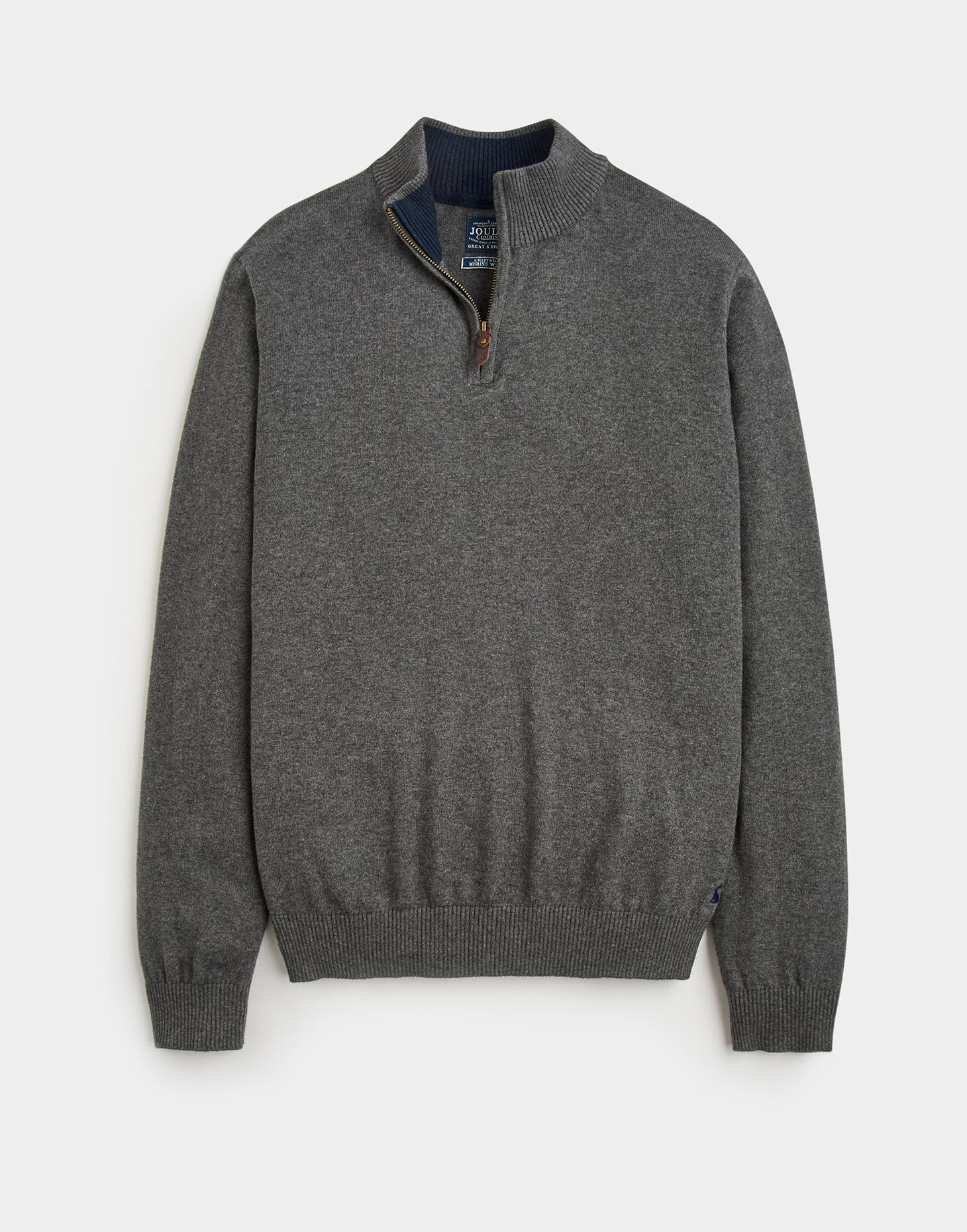 Joules Dark Grey Marl HILLSIDE Jumper