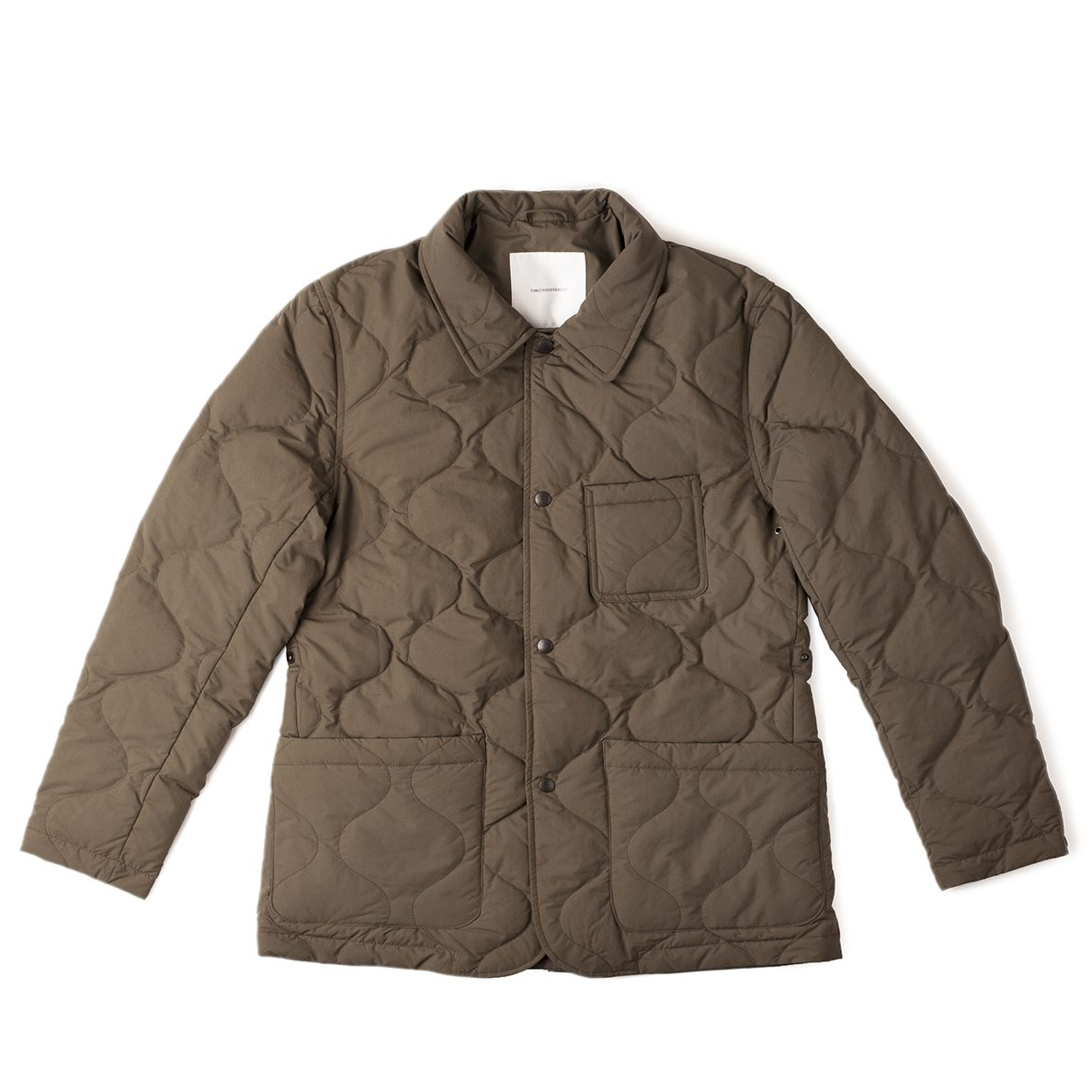 Timothy Everest Khaki Down Quilted Work Jacket