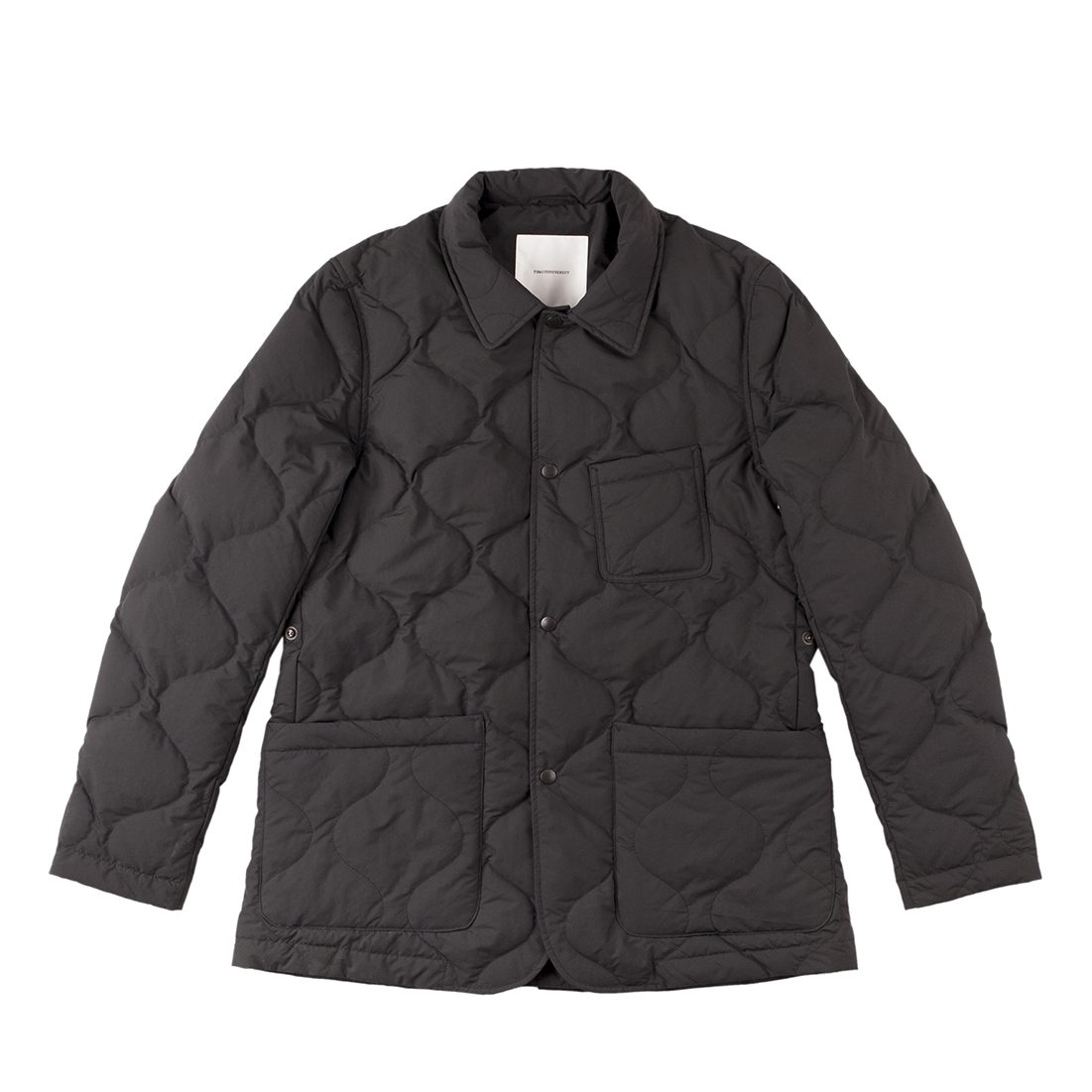 Timothy Everest Black Down Quilted Work Jacket