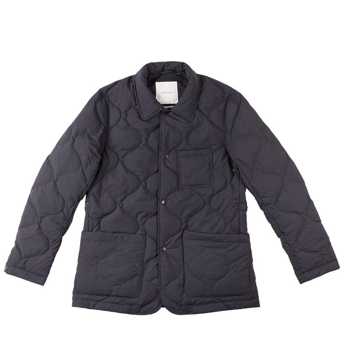 Timothy Everest Navy Down Quilted Work Jacket