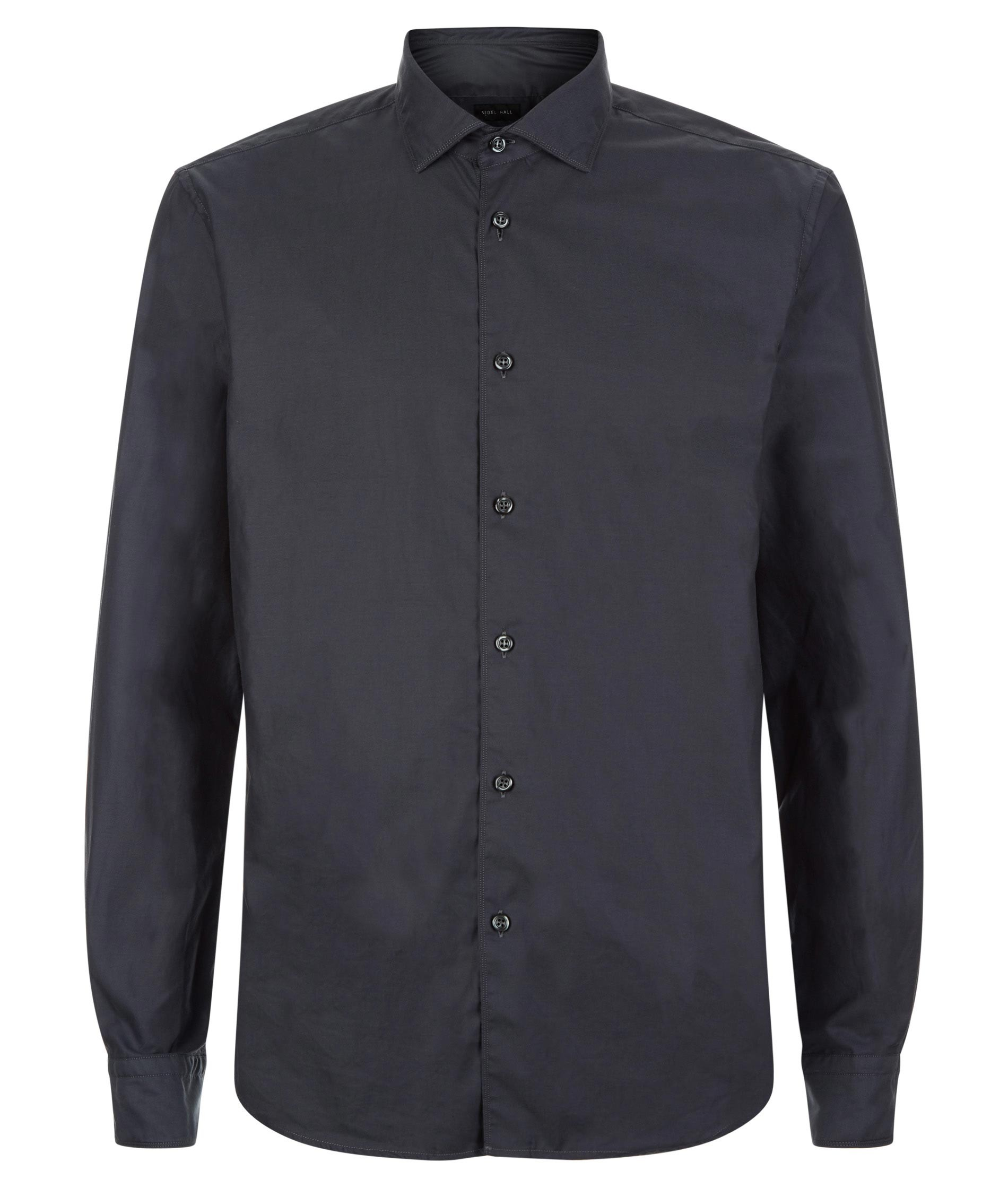 Nigel Hall Grey Tailored fit shirt - Enzo