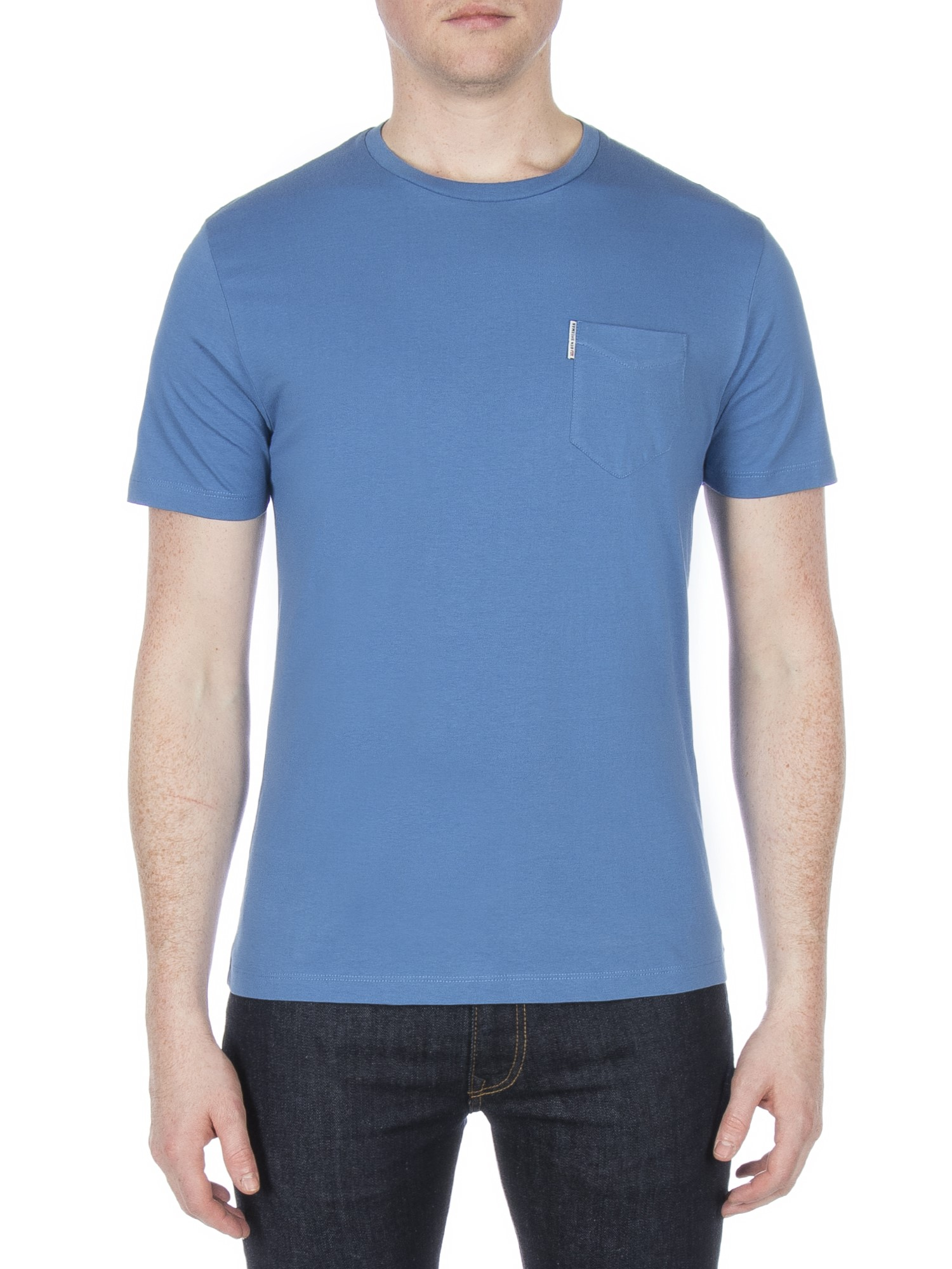 Ben Sherman Federal Blue Crew Neck T-Shirt