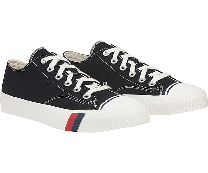 Black Royal Hi Trainers by Pro Keds