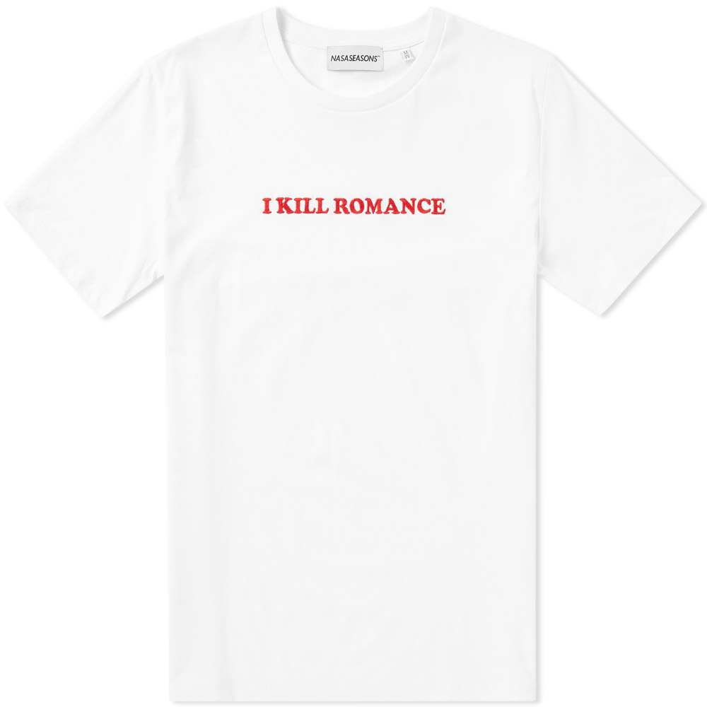 NASASEASONS White I Kill Romance Tee