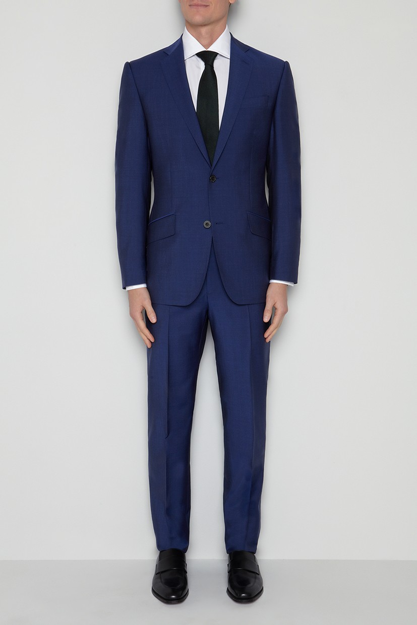 Richard James Hyde Suit - Strong Blue Wool & Mohair