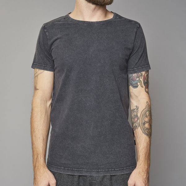 Suit Black Plain T-Shirt