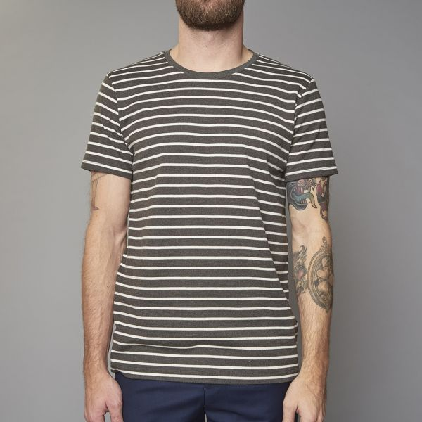 Suit DARK GREEN Stripe T-Shirt