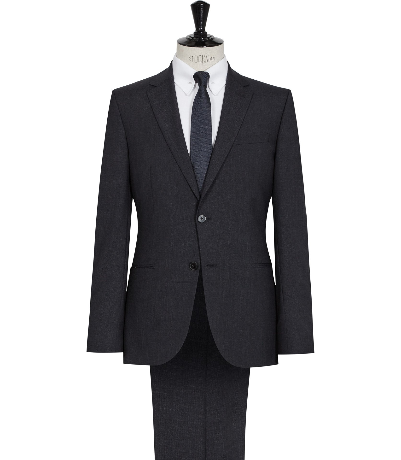 Reiss Navy Hammond Notch Lapel Suit