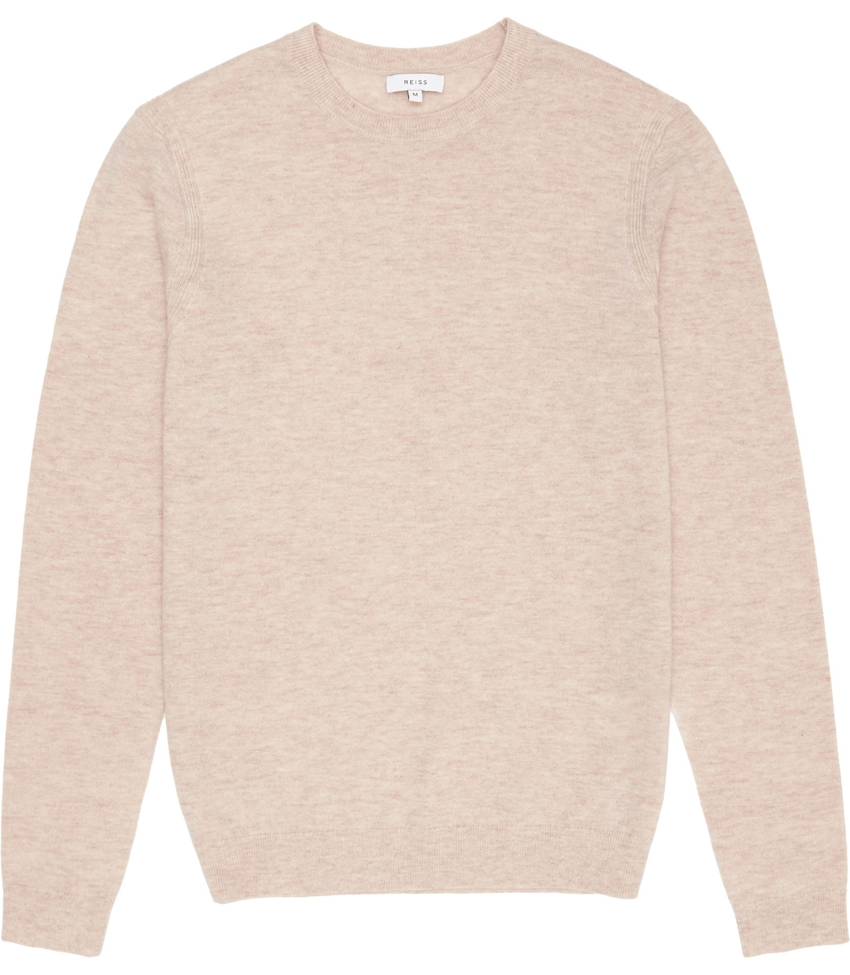 Reiss Tea Rose Charmer Wool And Cashmere Jumper
