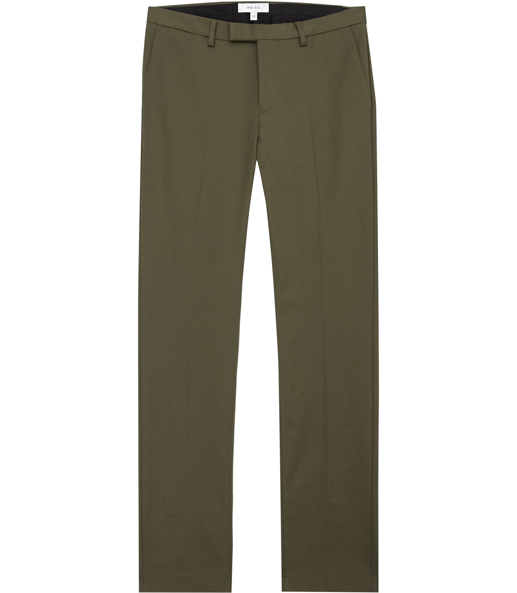 Reiss Khaki Westbury Slim-Fit Chinos