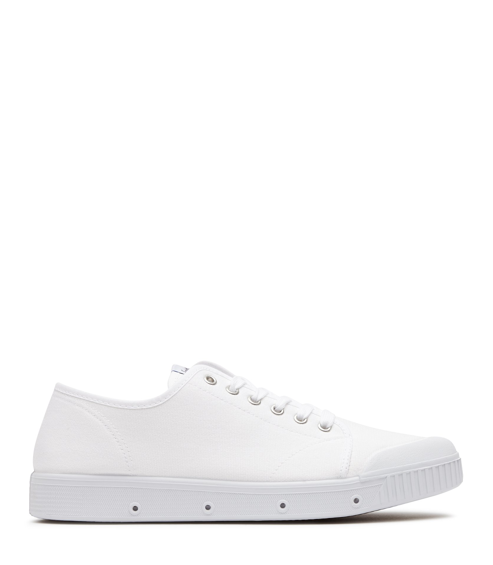 Reiss White Spring Court Canvas Sneakers