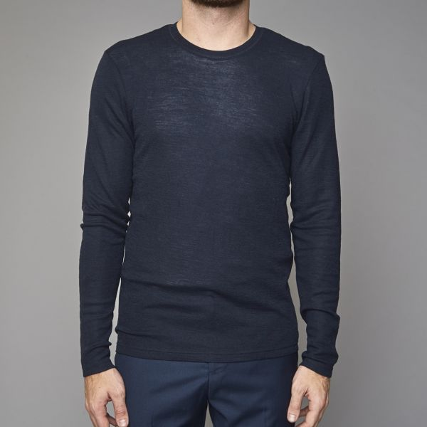 Suit Navy Merino Jumper