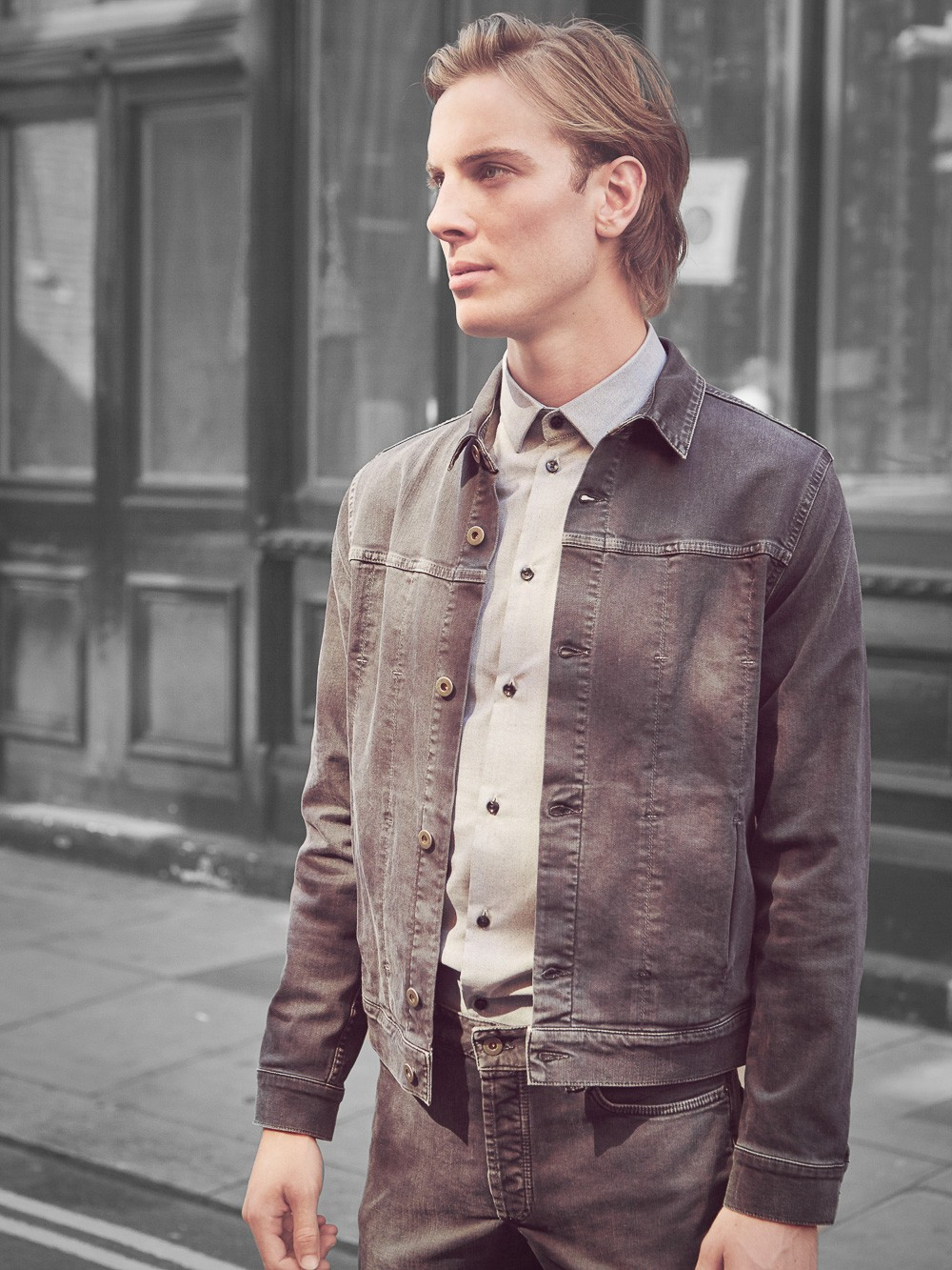 Natural Selection Wells Jacket Graphite