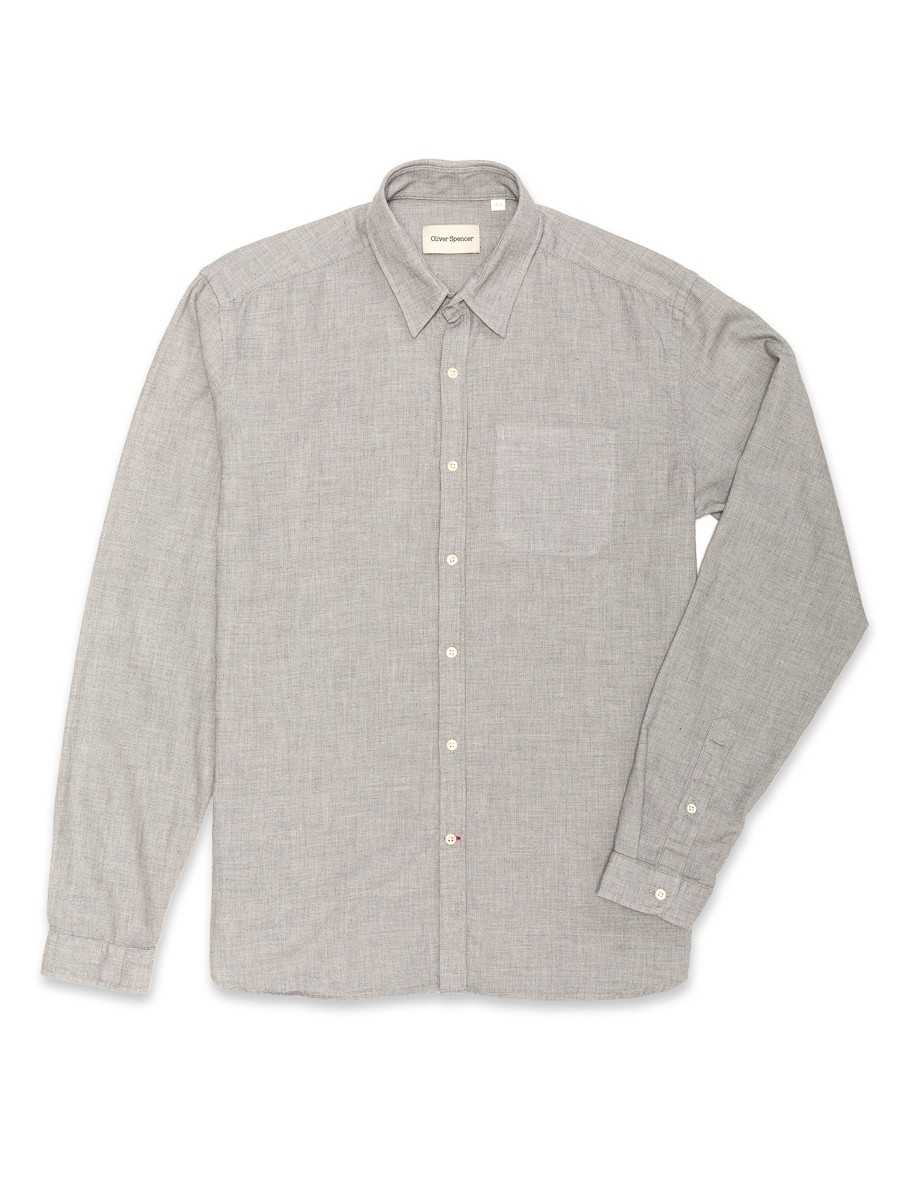 Oliver Spencer New York Special Shirt Bailey Grey