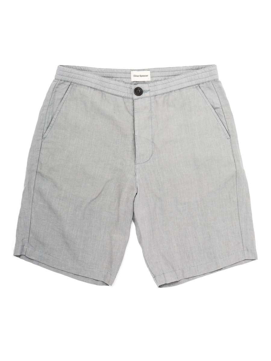 Oliver Spencer Drawstring Short Linton Grey OSMT54A-LIN01GRY