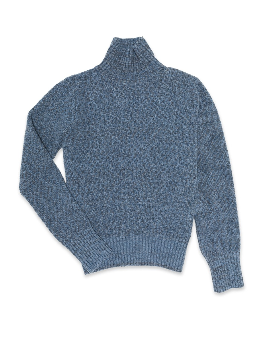 Oliver Spencer Talbot Roll Neck Hereford Sky