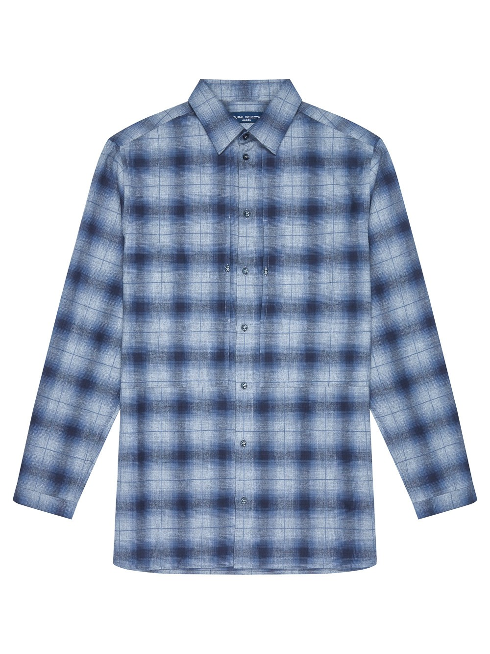 Natural Selection Leander Shirt Ombre Dusk